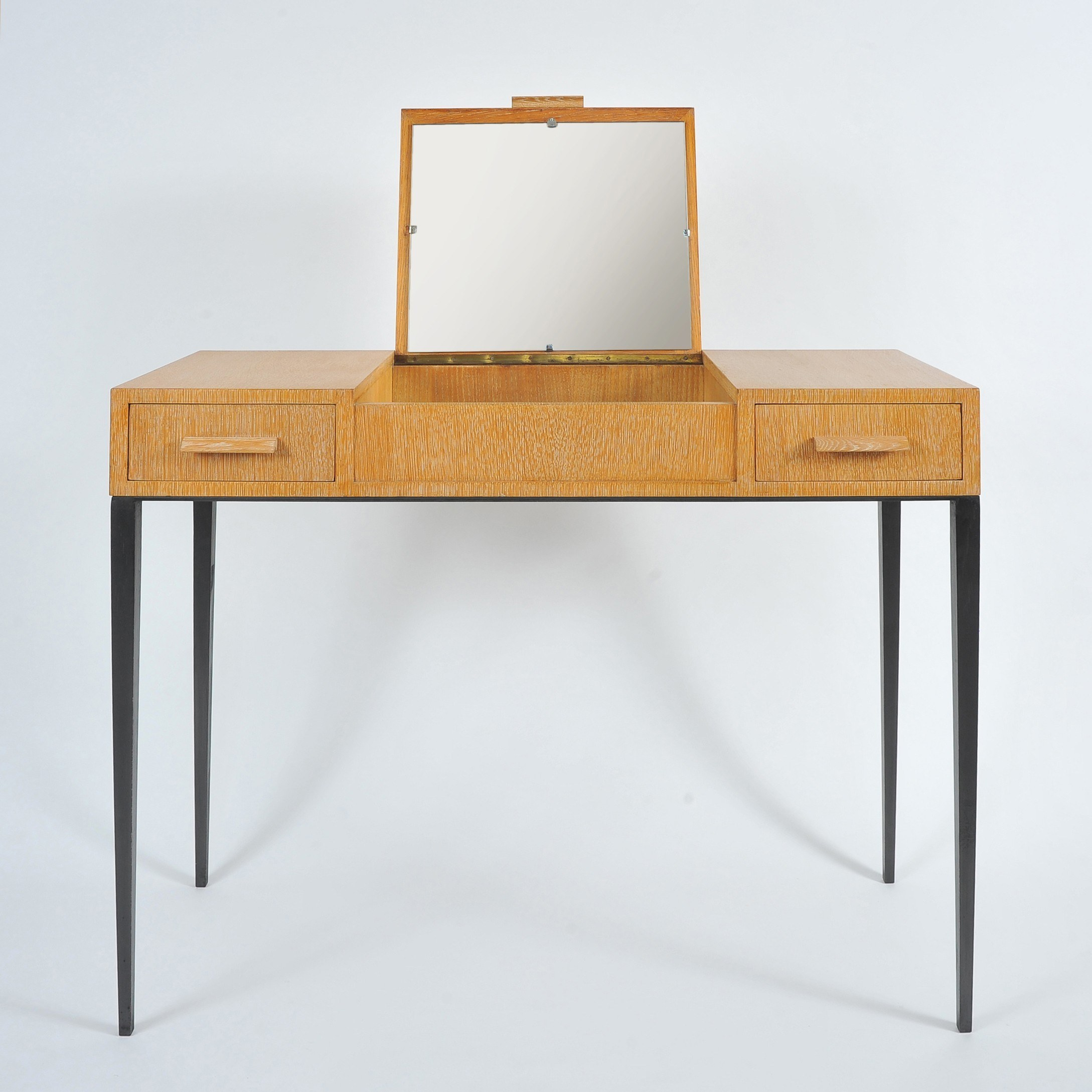 The image for 1930S Comte Oak Dressing Table I 1