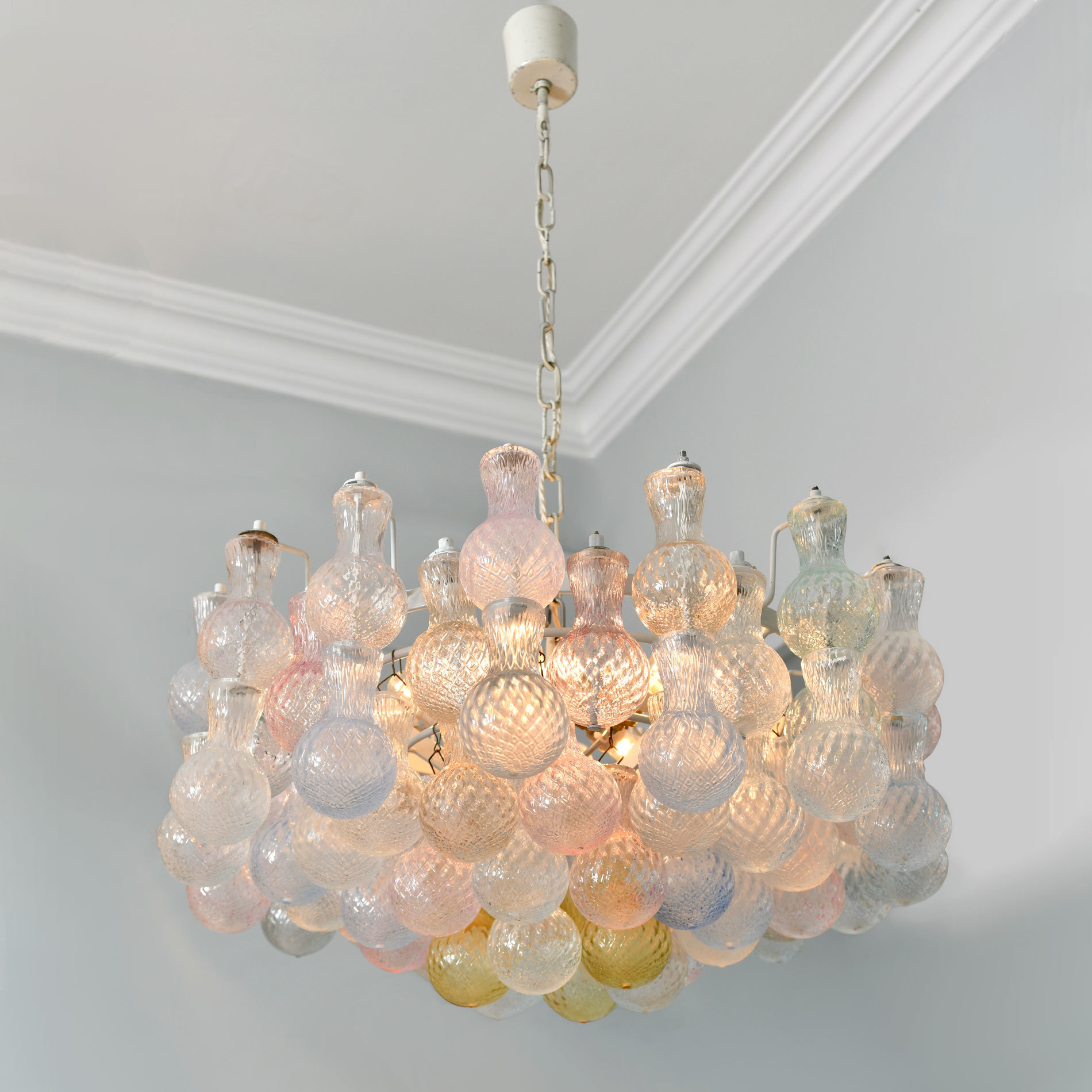 1950S Italian Chandelier By Seguso 01