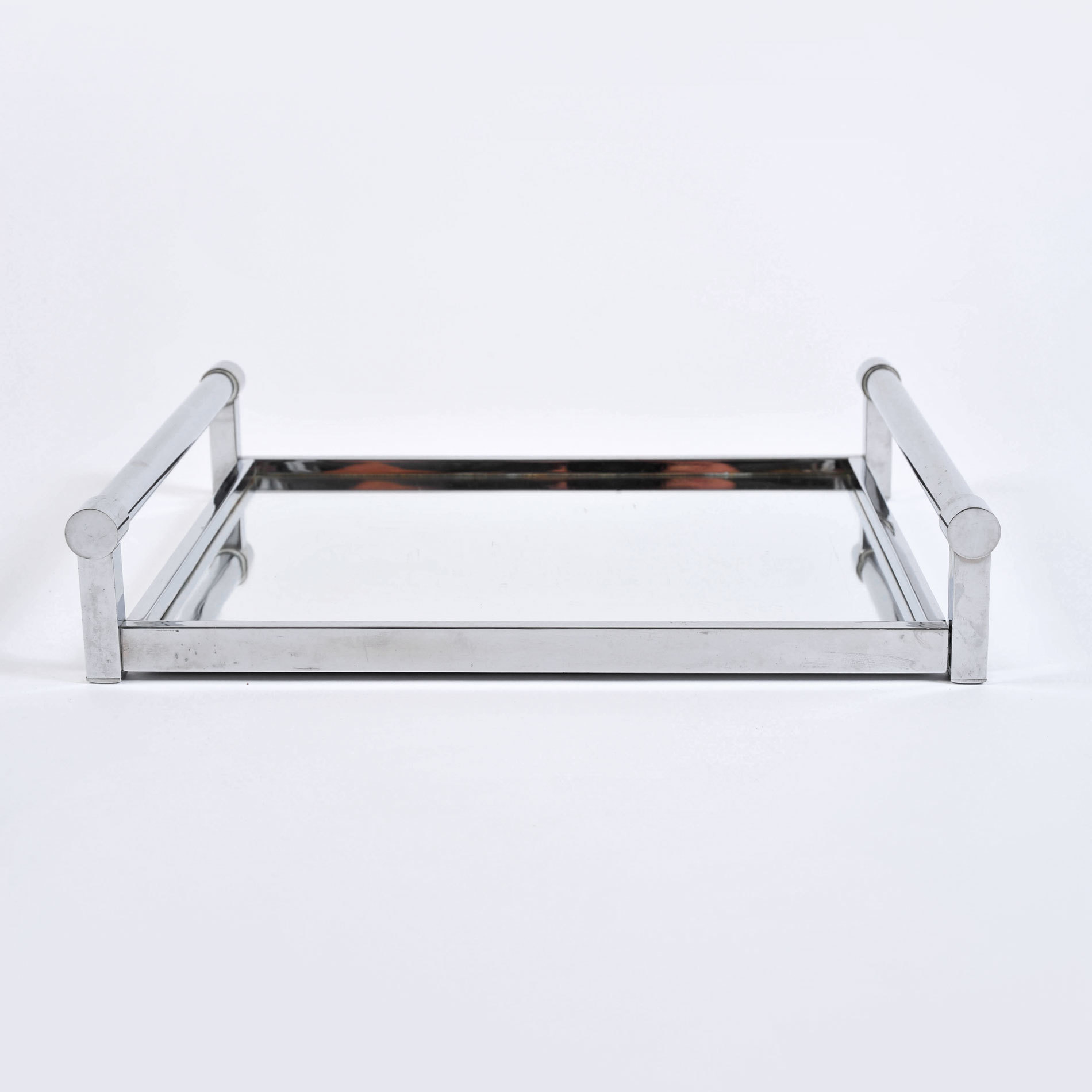 The image for 1950S Rectangular Chrome Tray 02