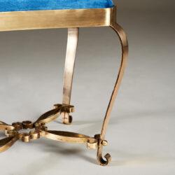The image for Italian Brass Stool 20210225 Valerie Wade 2 095 V1