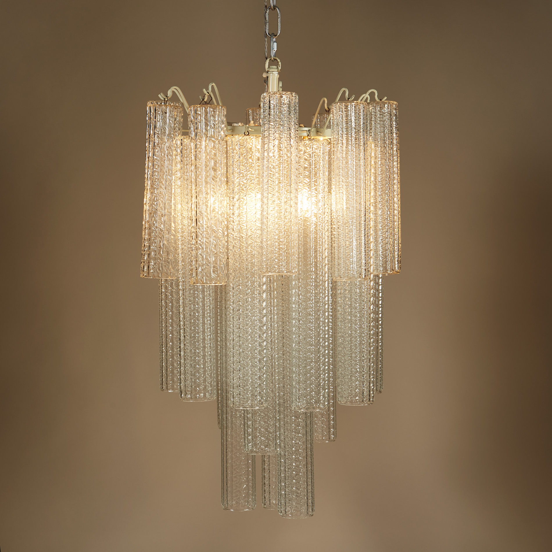 The image for Venini Cylindrical Chandelier Ii 0233 V1