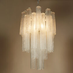 The image for Venini Cylindrical Chandelier Ii 0235 V1