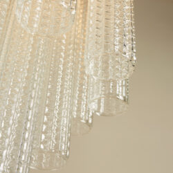 The image for Venini Cylindrical Chandelier Ii 0250 V1