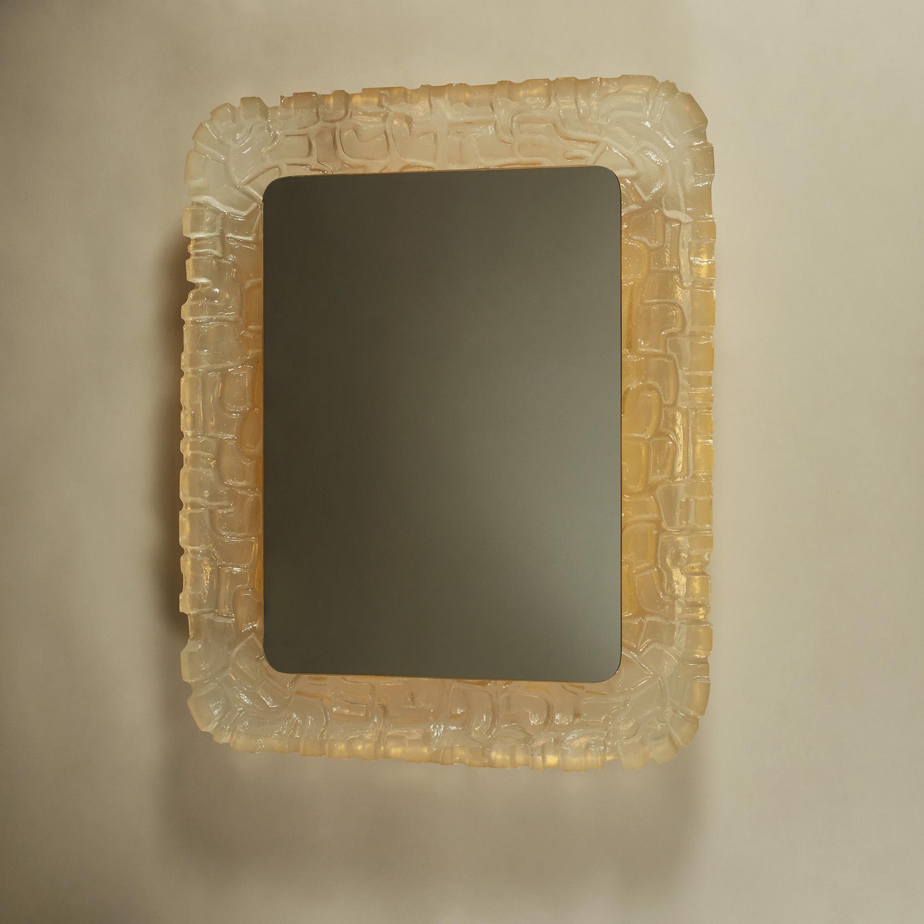Resin Back Lit Mirror 255 V1