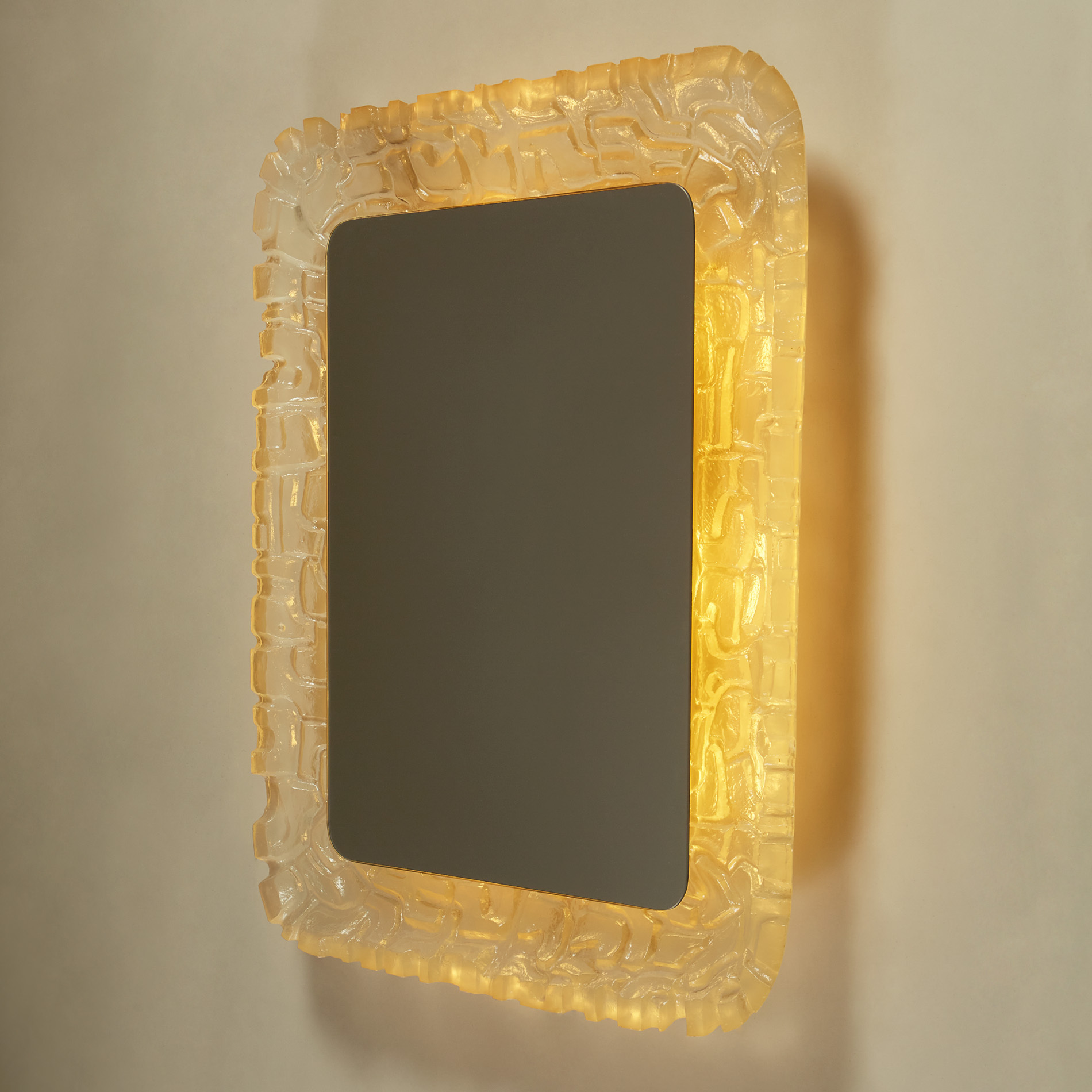 Resin Back Lit Mirror 265 V1