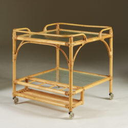 The image for Bamboo Serving Trolley Valerie Wade 0064 V1