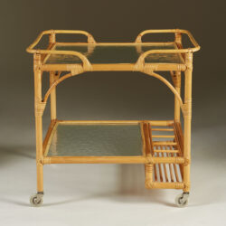 The image for Bamboo Serving Trolley Valerie Wade 0071 V1