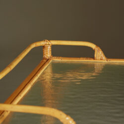The image for Bamboo Serving Trolley Valerie Wade 0075 V1