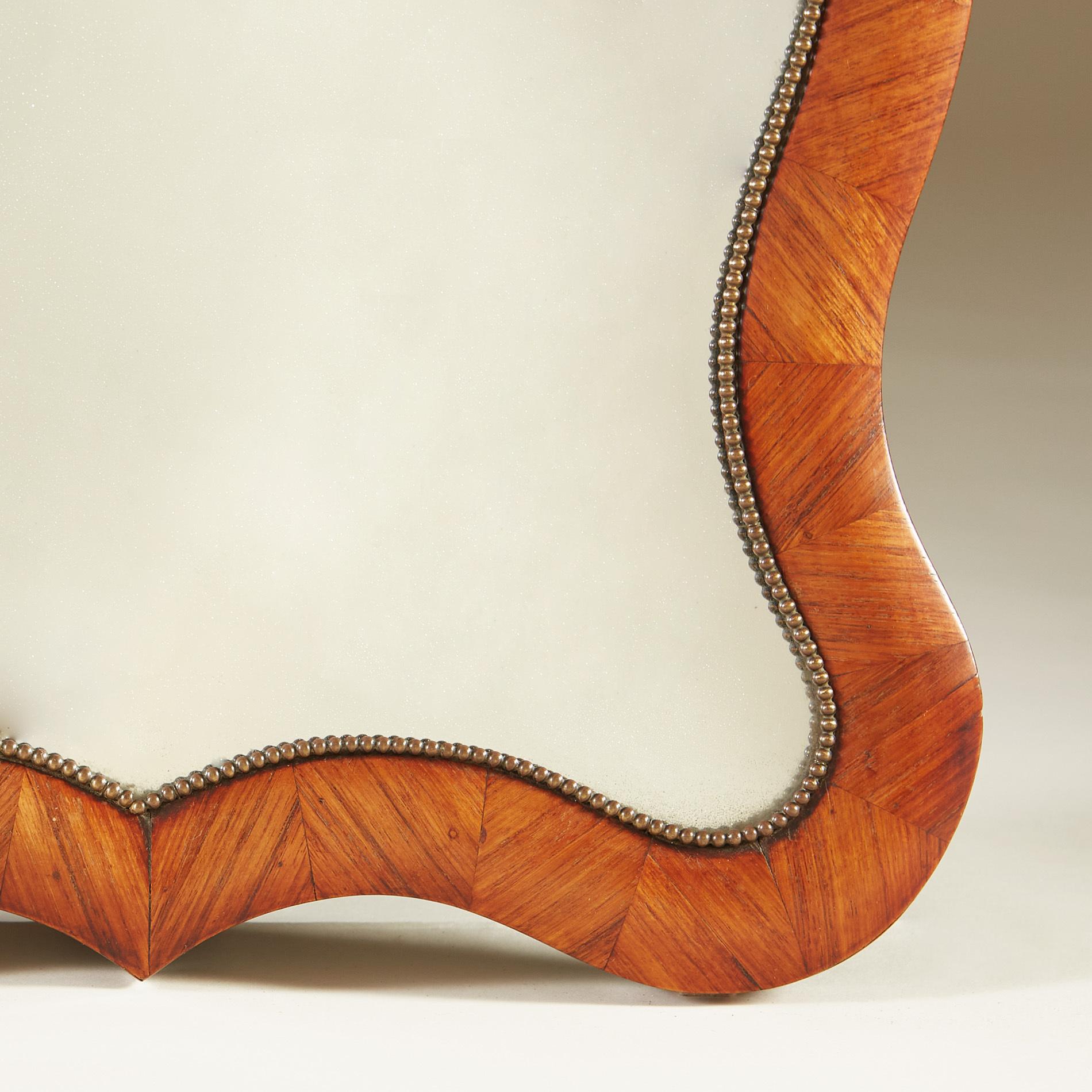 Walnut Dressing Table Mirror 0010 V1