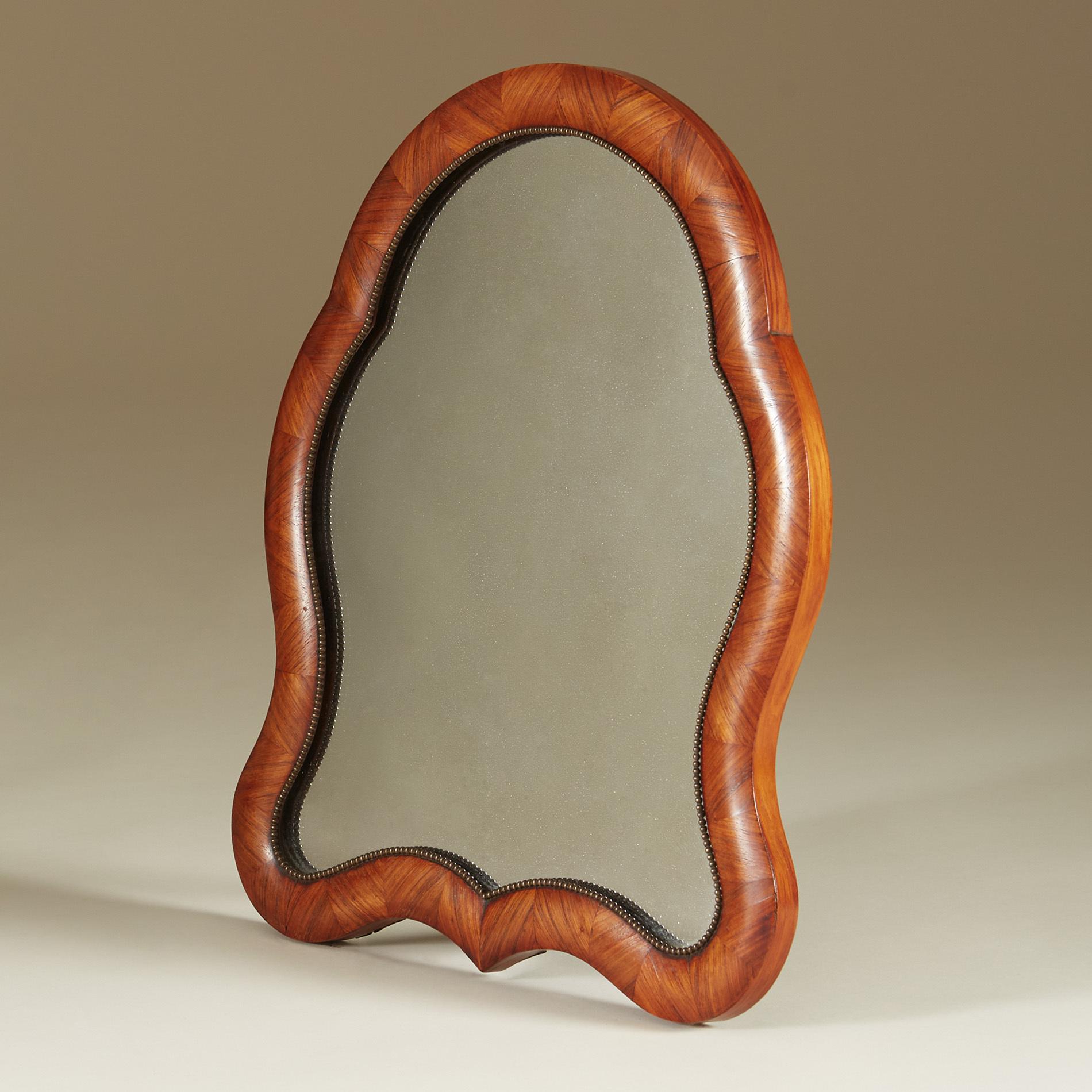 Walnut Dressing Table Mirror V1