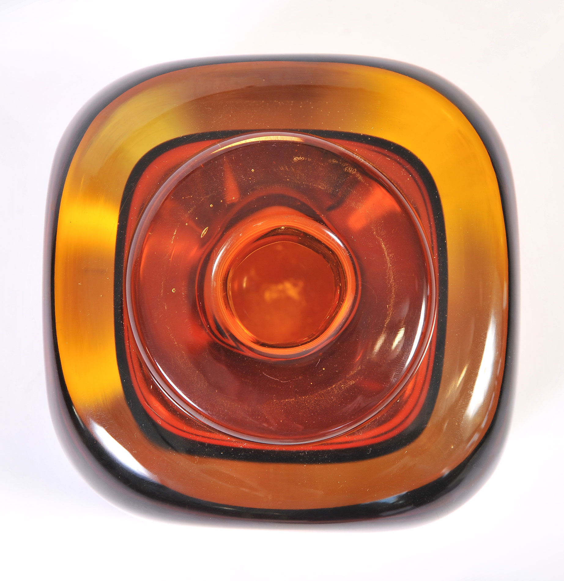 The image for Amber Glass Vase 03