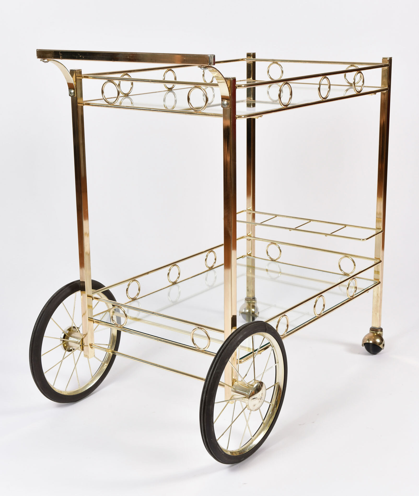 American Brass Drinks Trolley 03