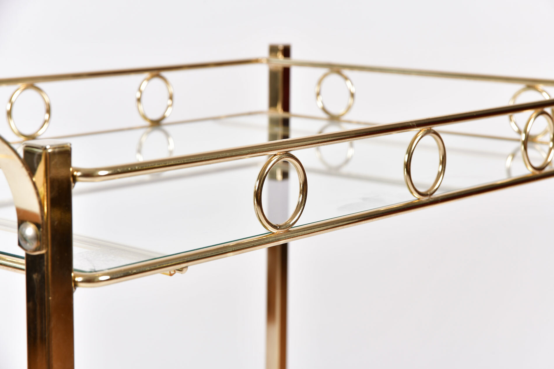The image for American Brass Drinks Trolley 04