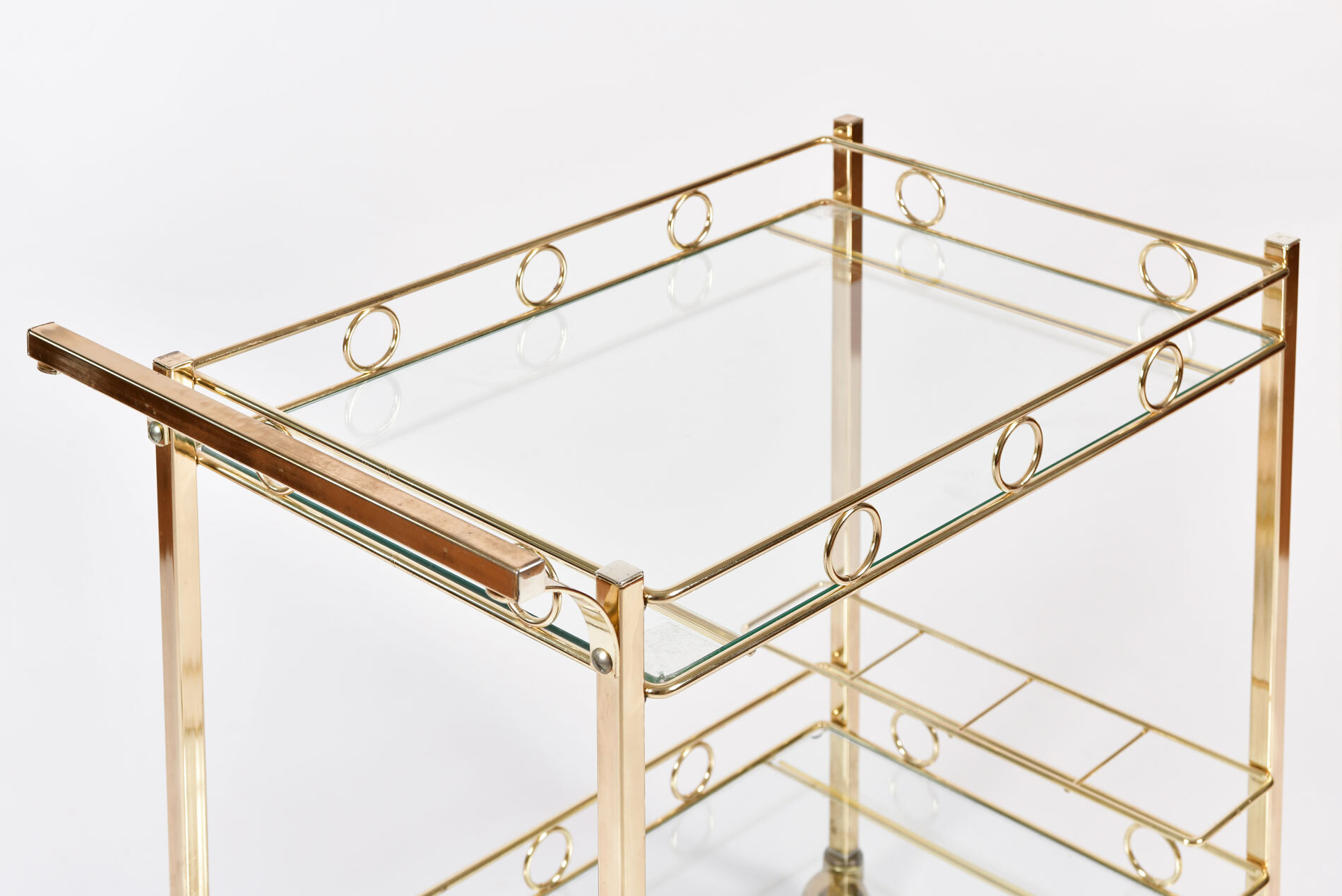 The image for American Brass Drinks Trolley 05