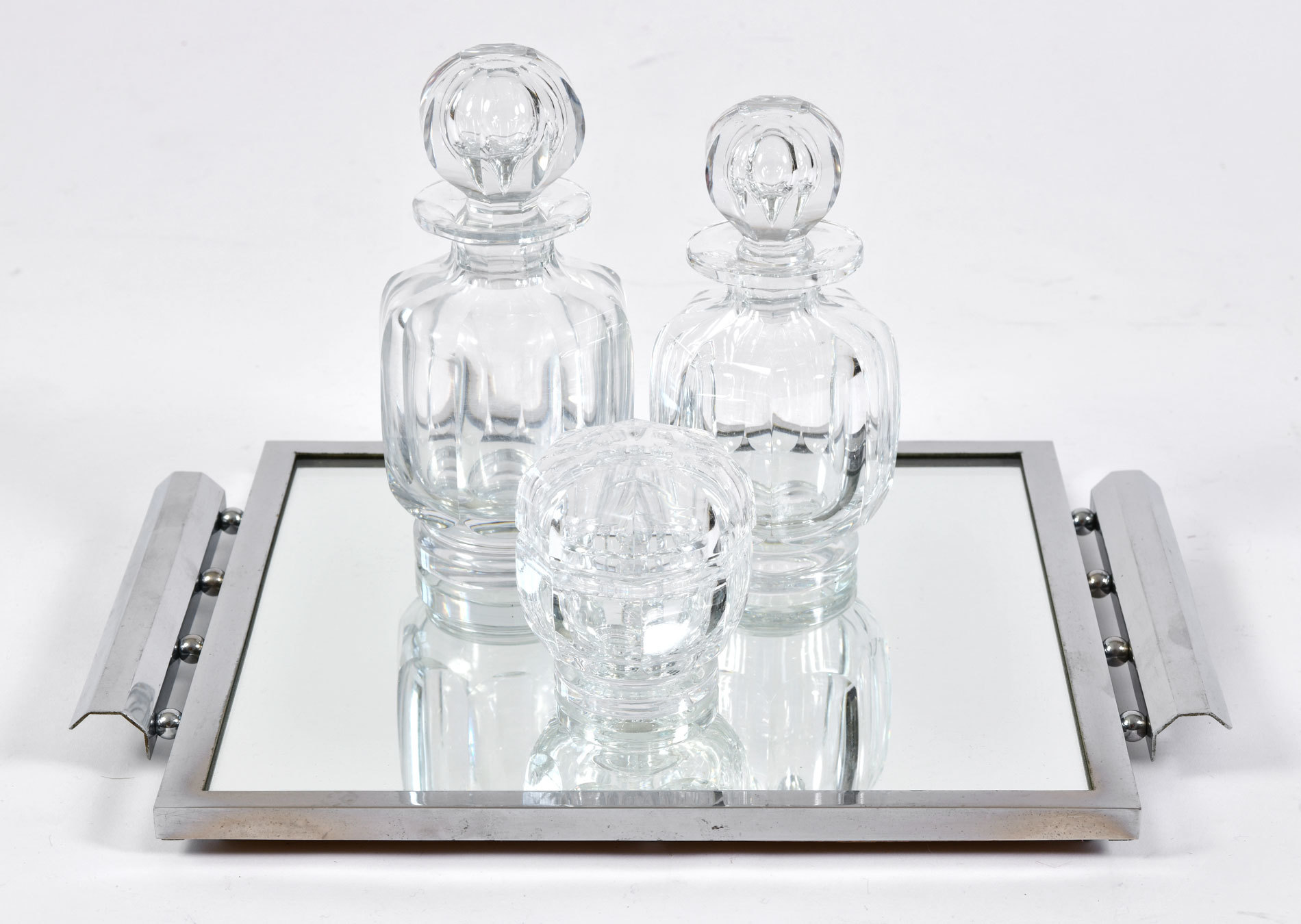 Baccarat Scent Bottle Set 02