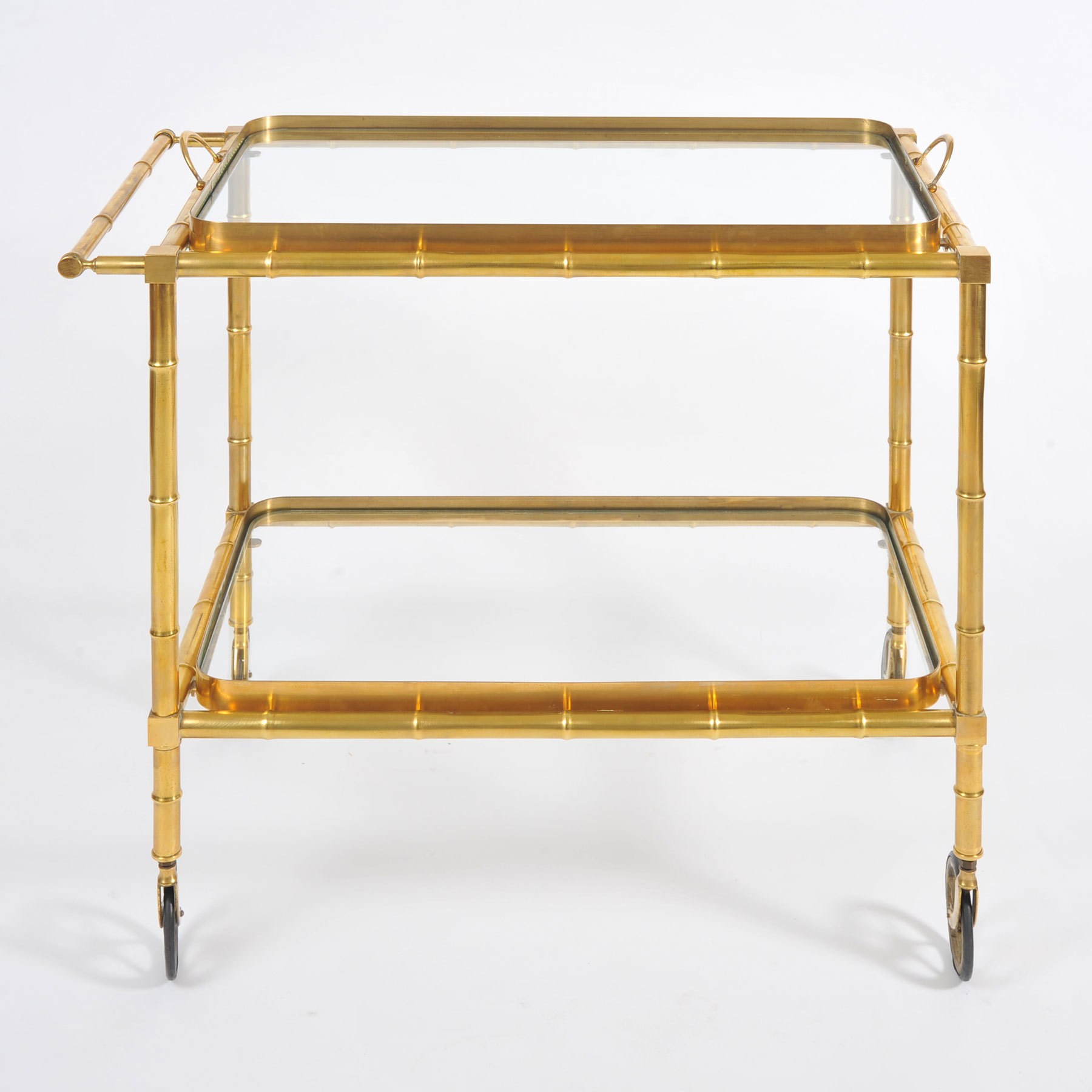 The image for Bamboo Brass Trolley 02 Vw