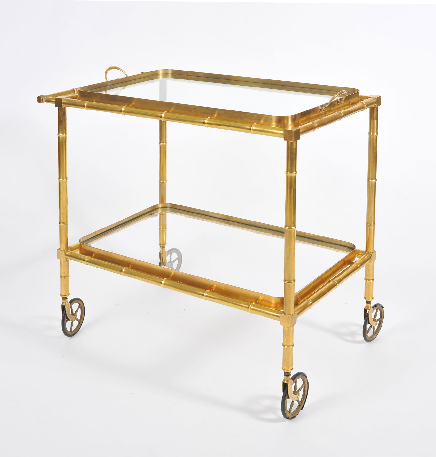 The image for Bamboo Brass Trolley 03 Vw