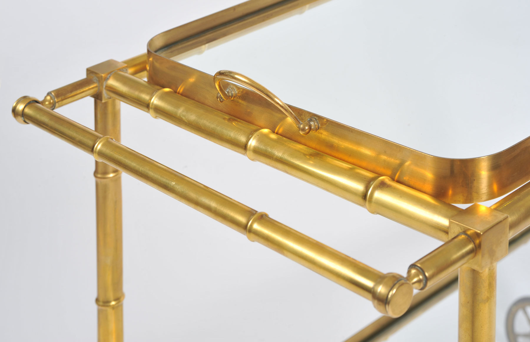 The image for Bamboo Brass Trolley 04 Vw