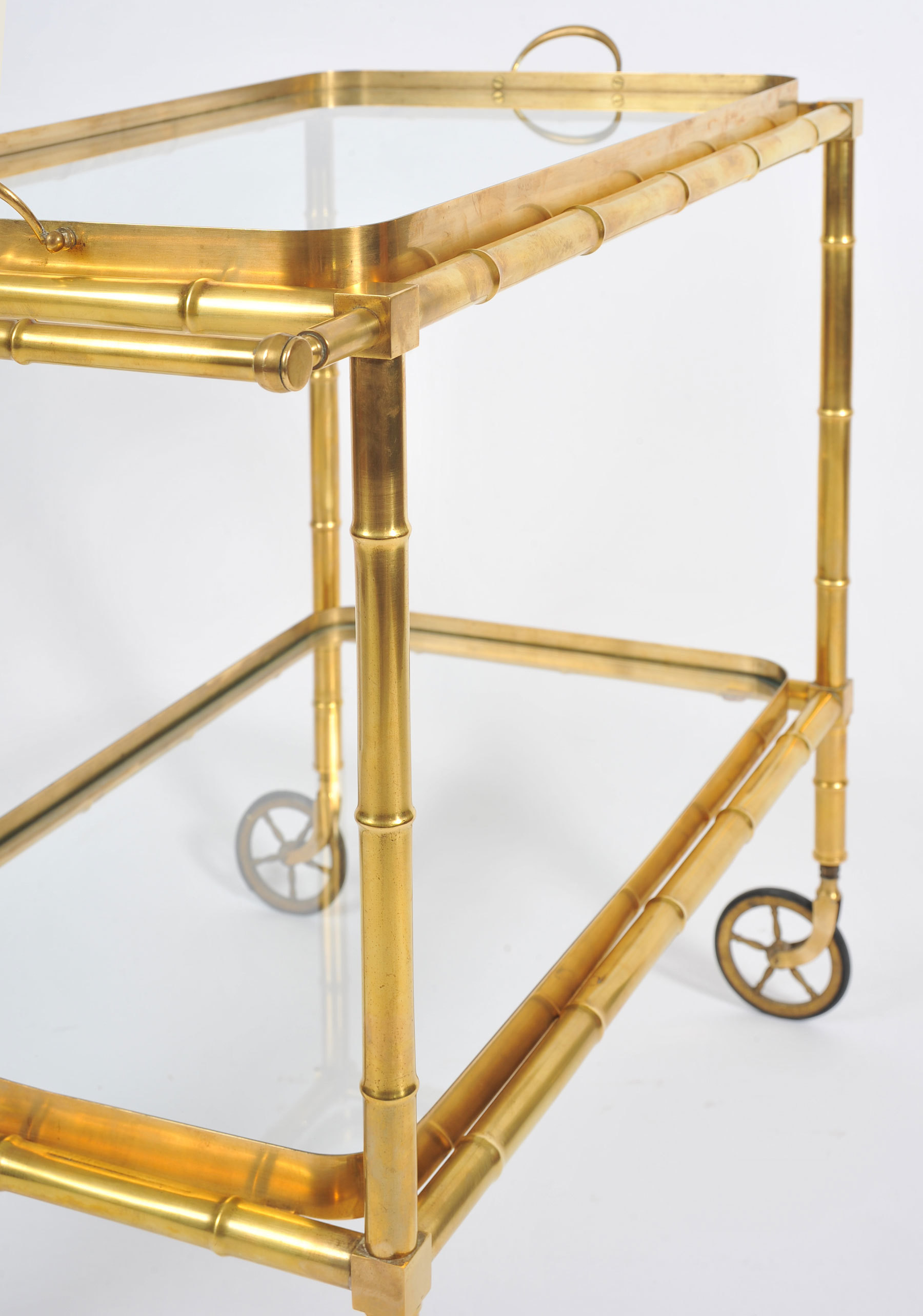 The image for Bamboo Brass Trolley 05 Vw