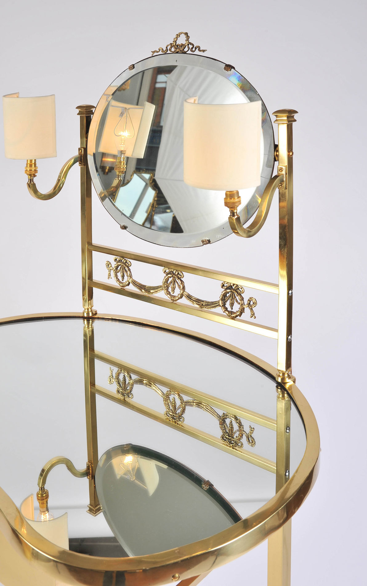 Brass Dressing Table Mirror Lights 03