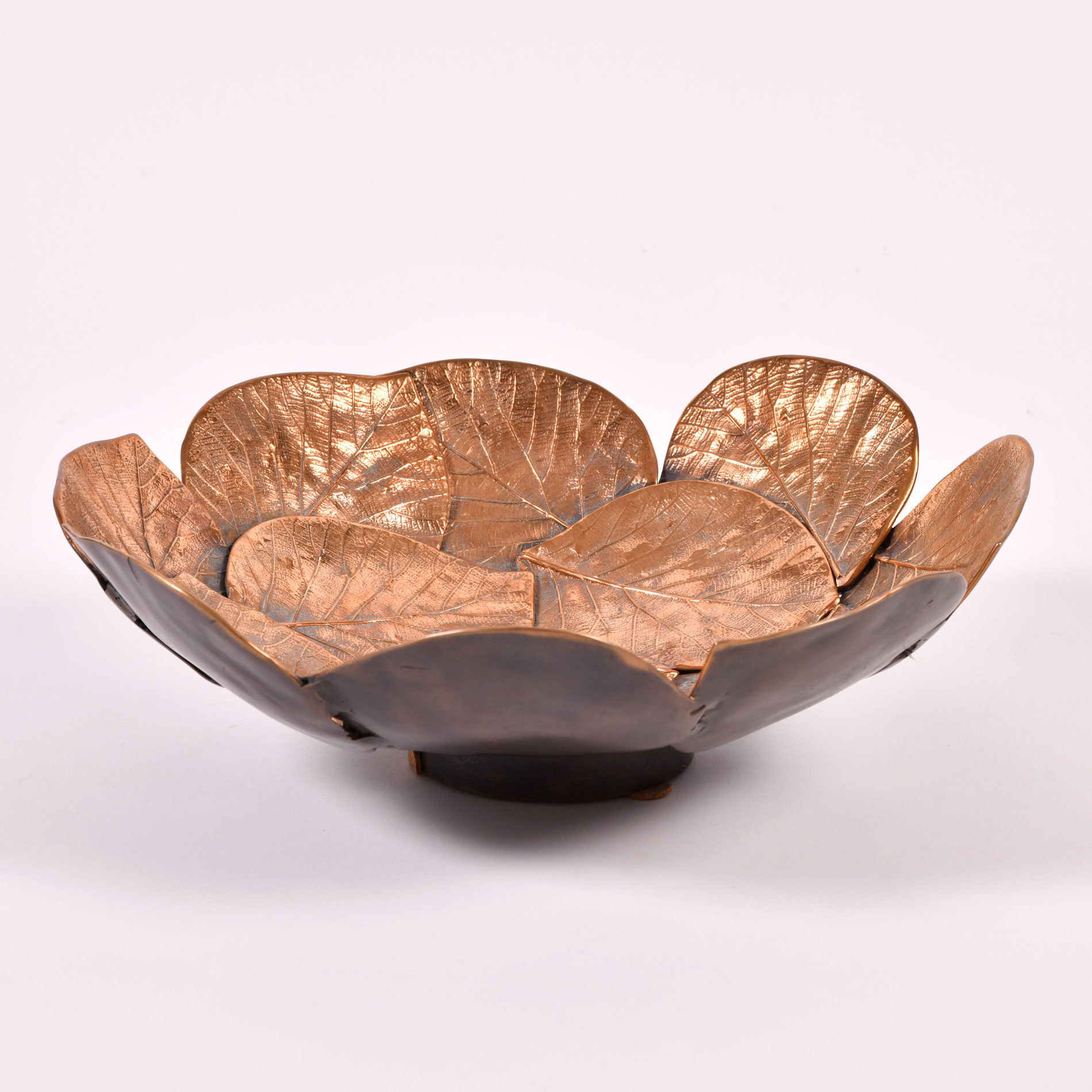 The image for Brass Leaf Bowl 01