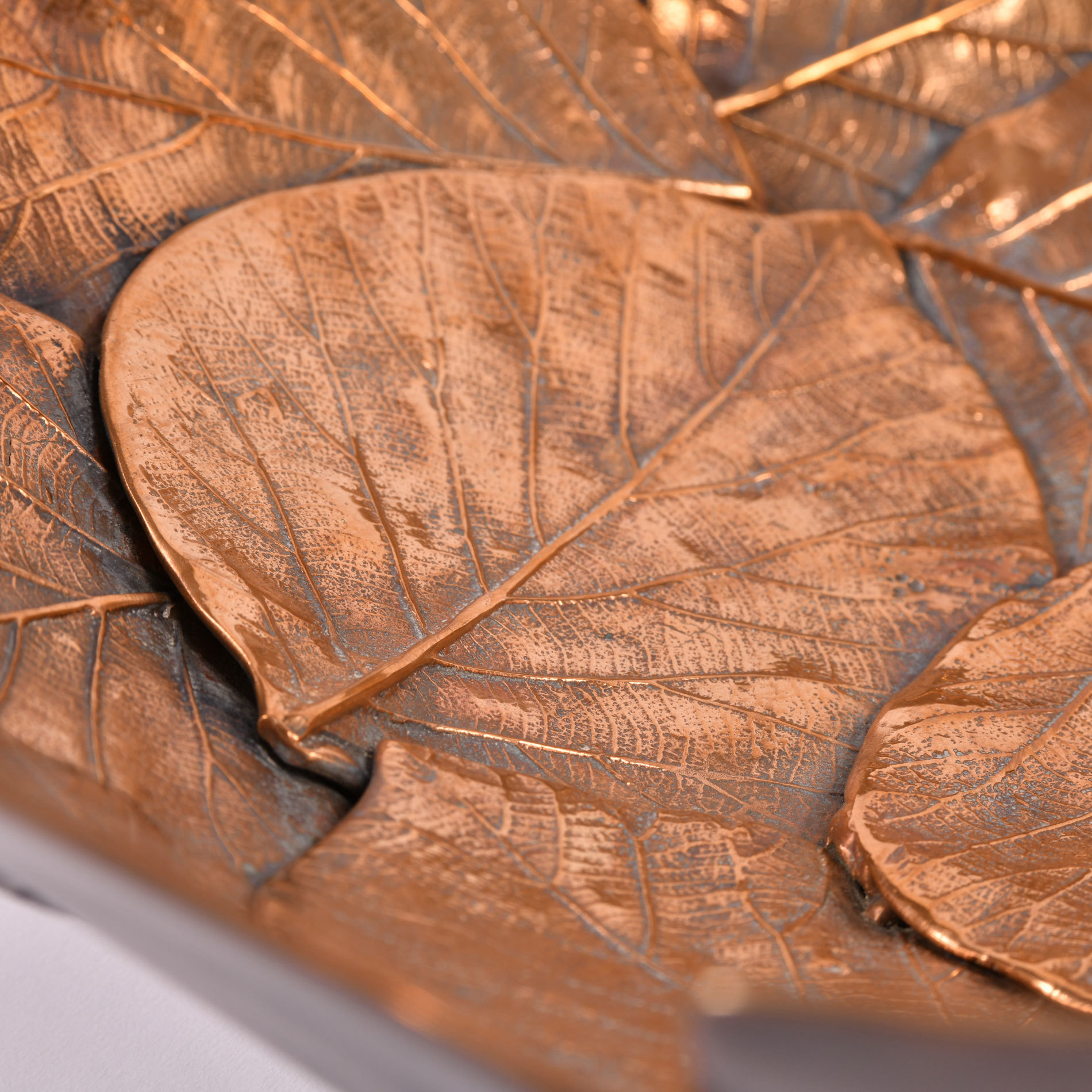 Brass Leaf Bowl 04