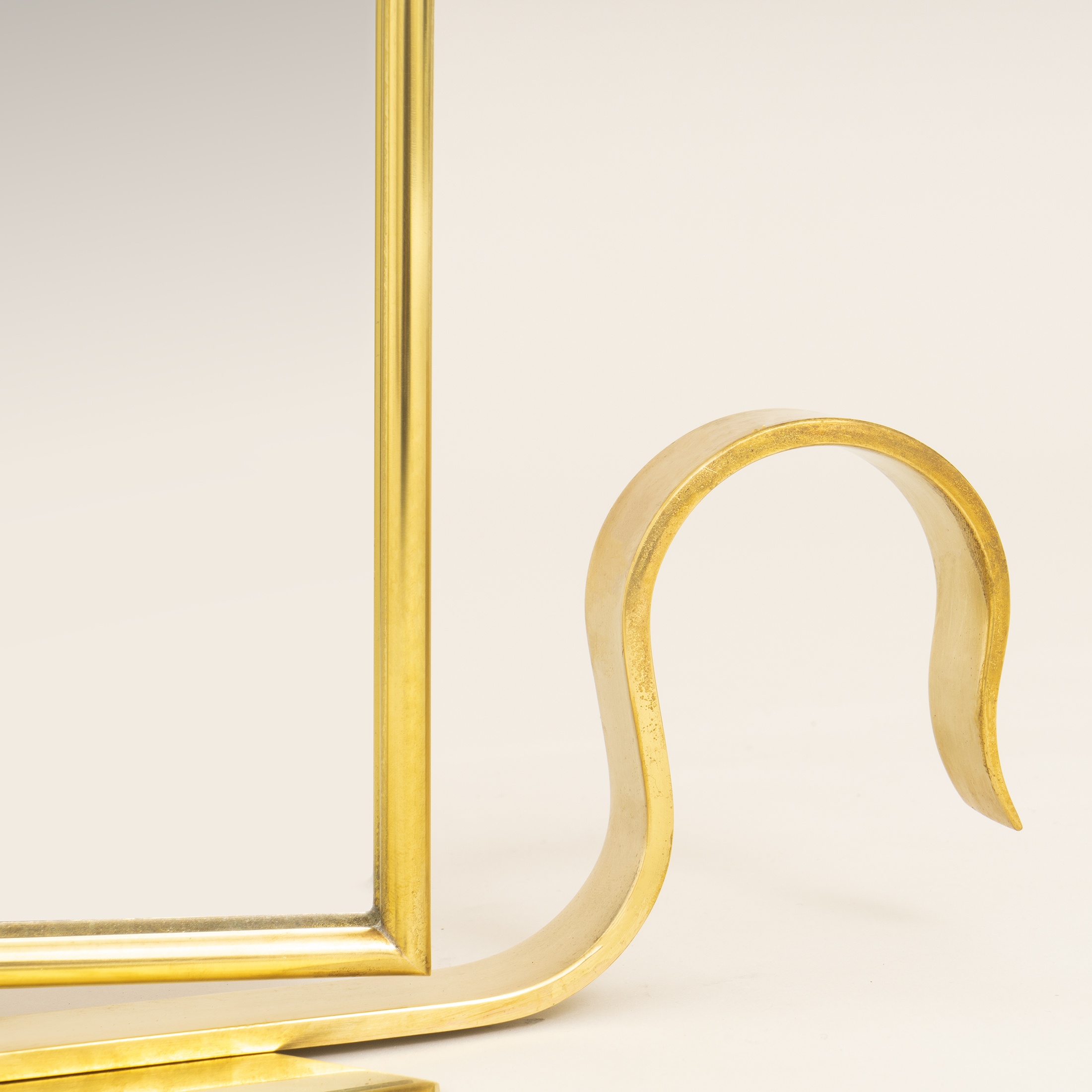 Brass Triple Dt Mirror 0373