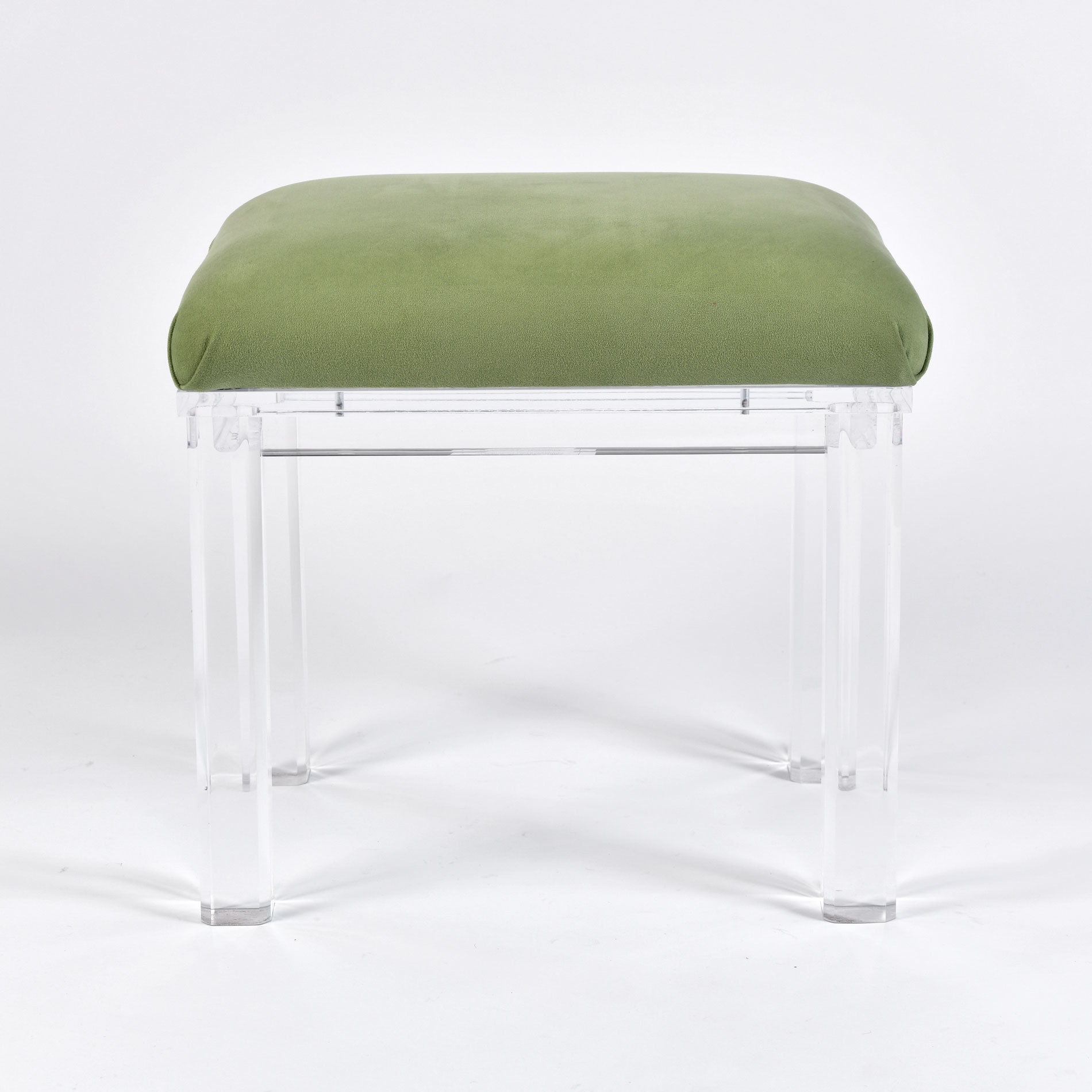 The image for Carmichael Lucite Stool 01