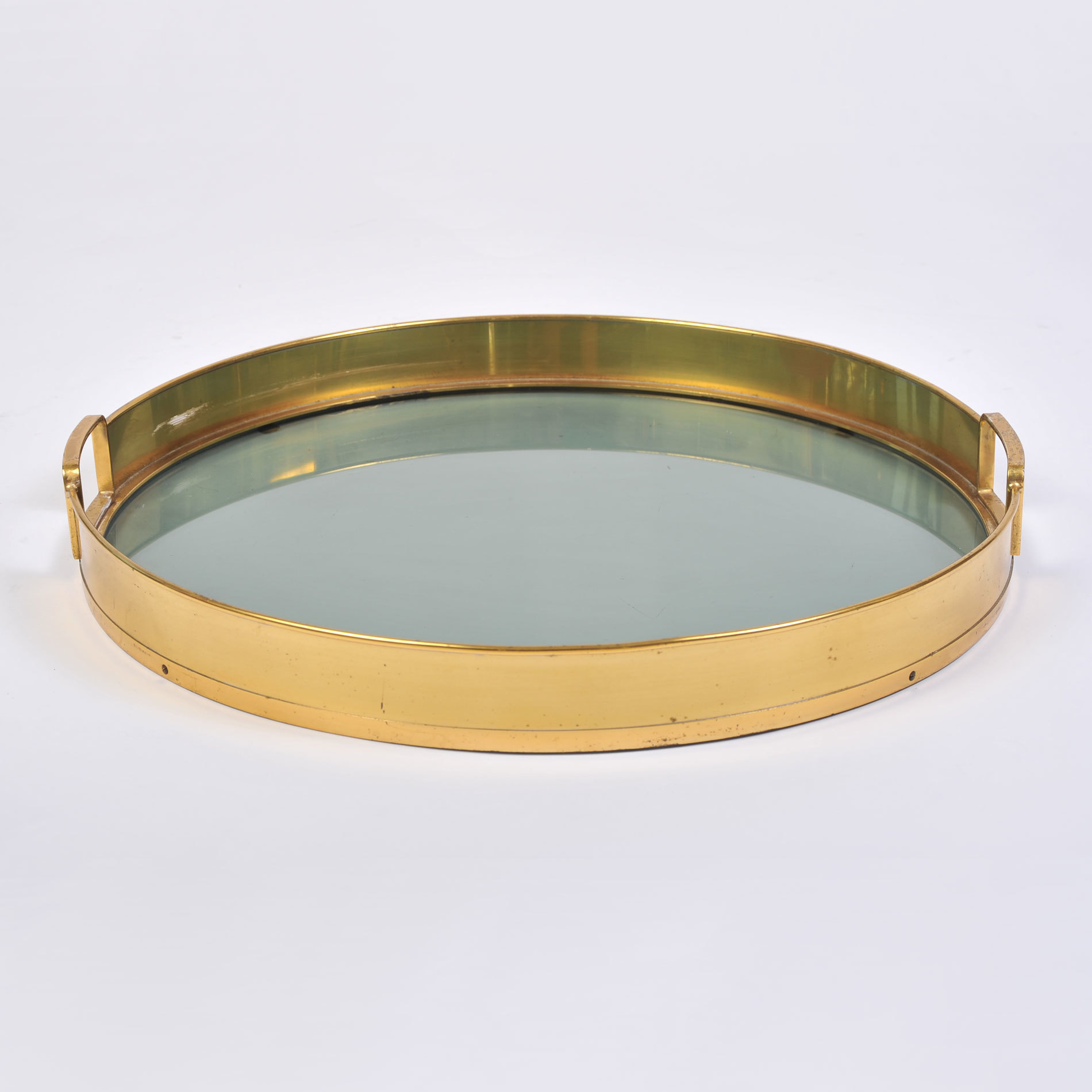 The image for Circular Brass Tray 01