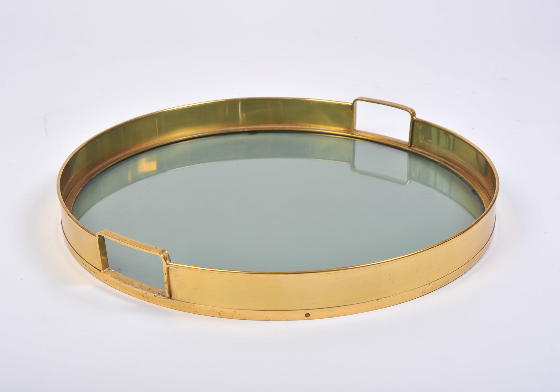 The image for Circular Brass Tray 03