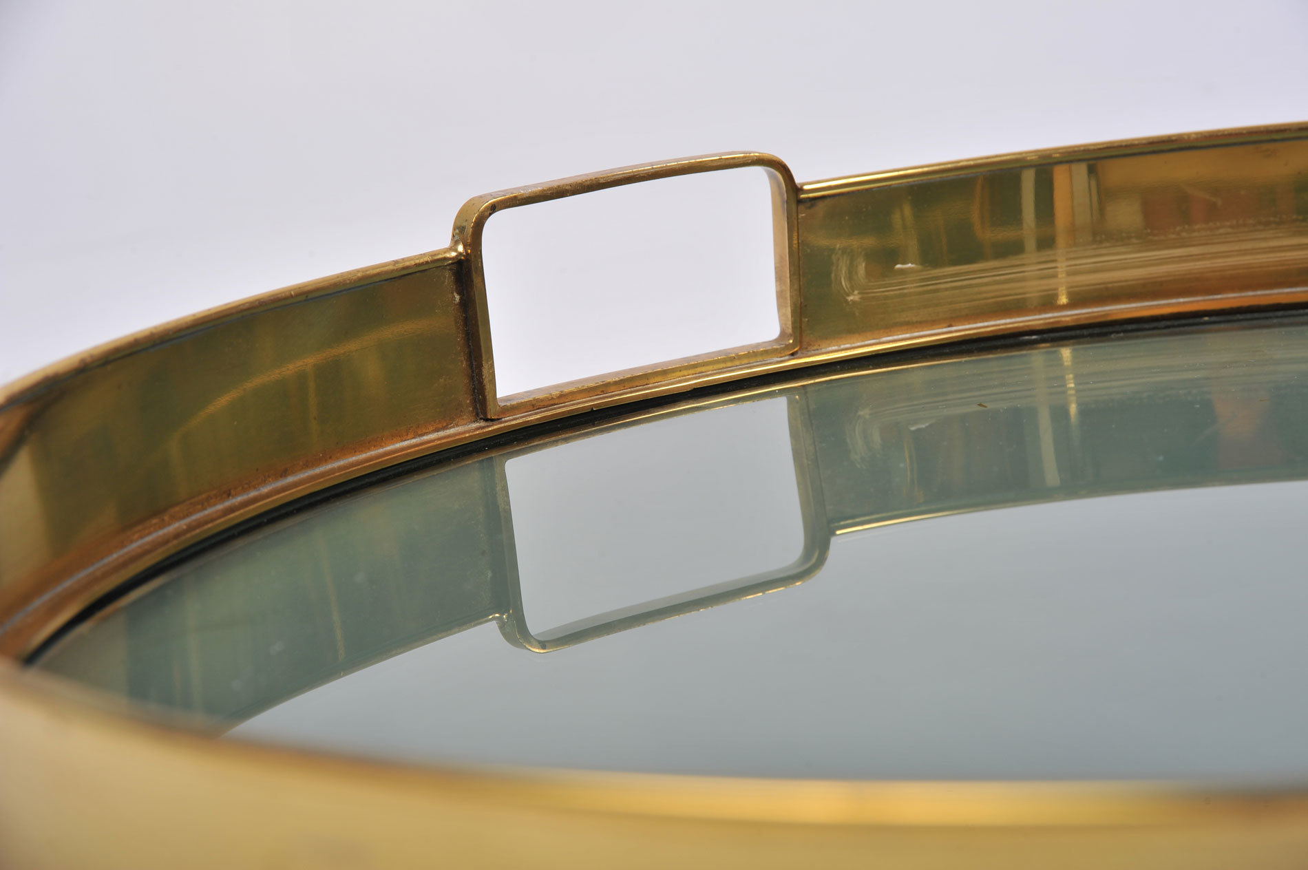 The image for Circular Brass Tray 05