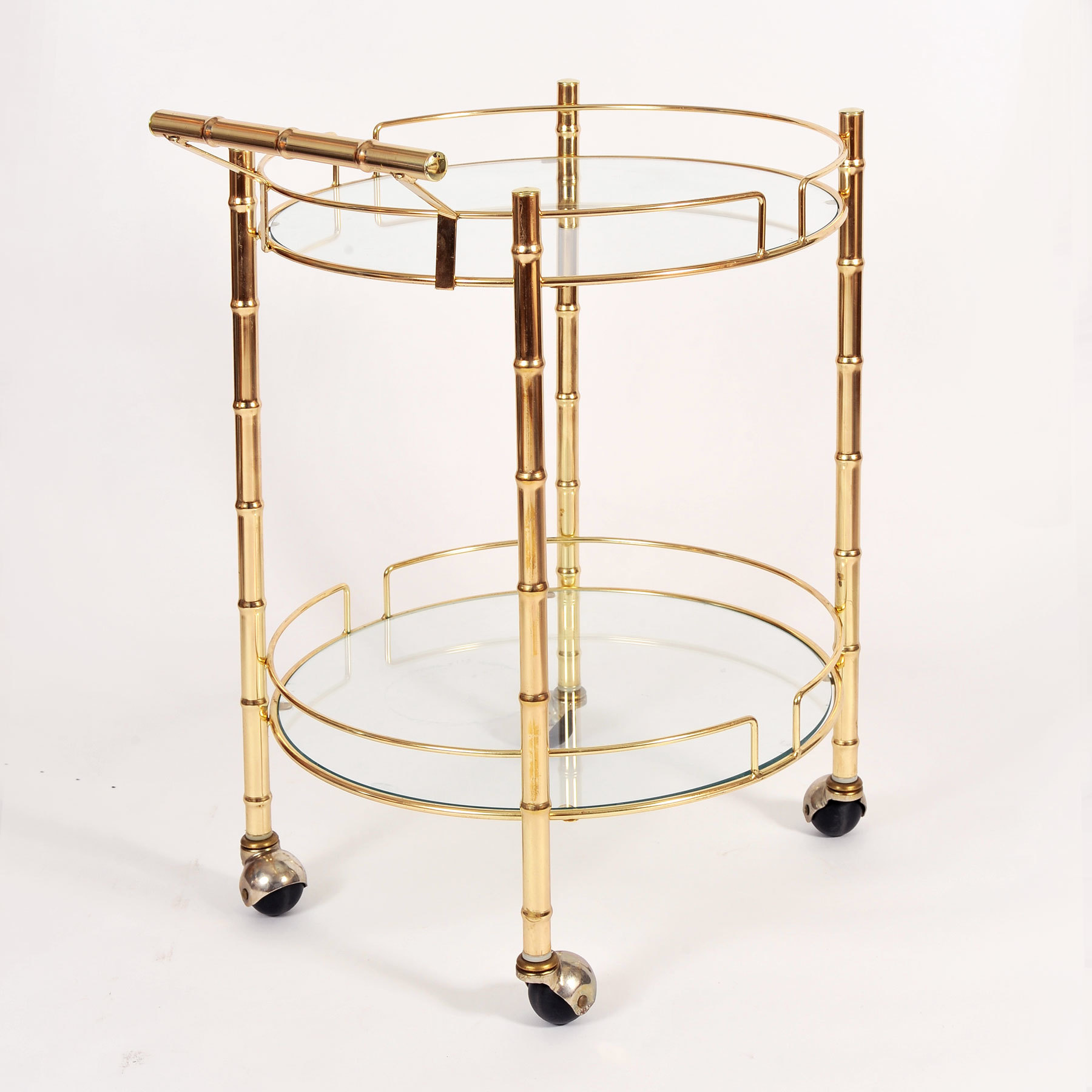 The image for Circular Brass Trolley 03