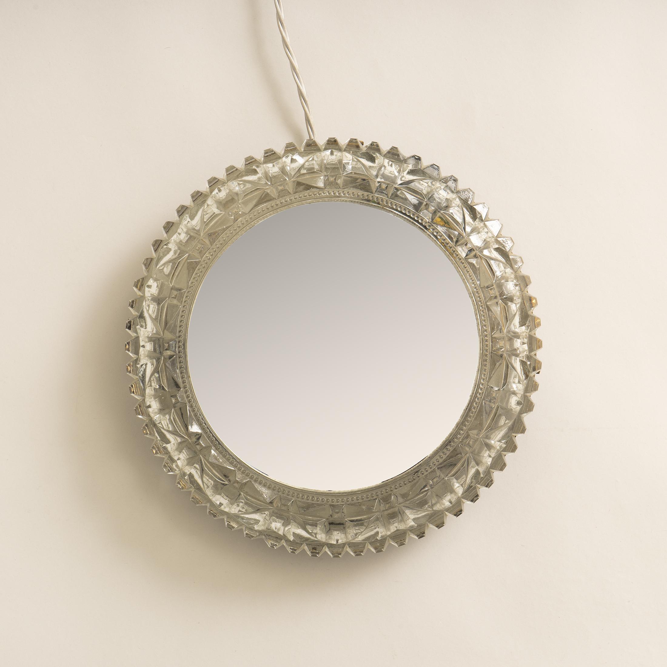 Circular Backlit Mirror 0384