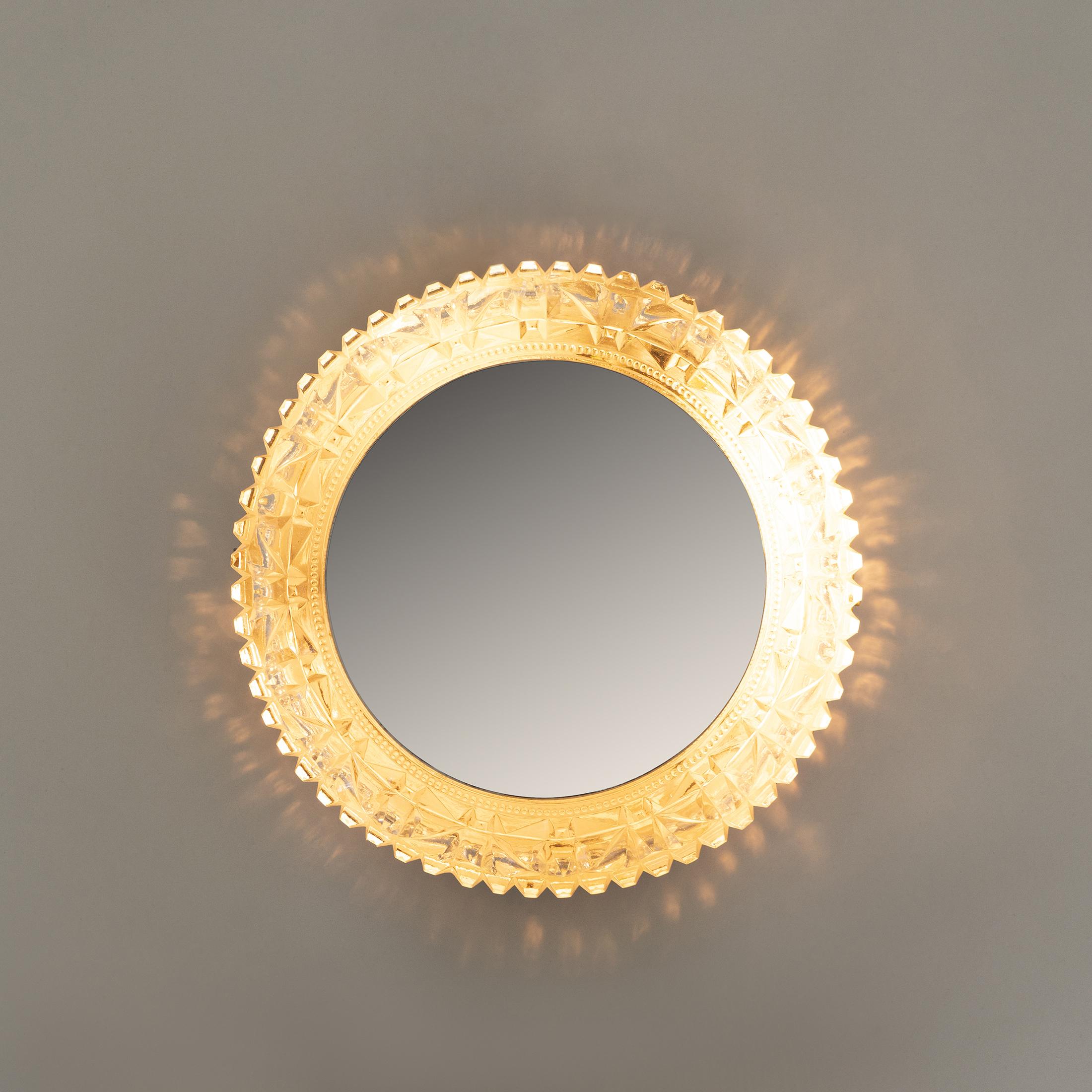 Circular Backlit Mirror 0393