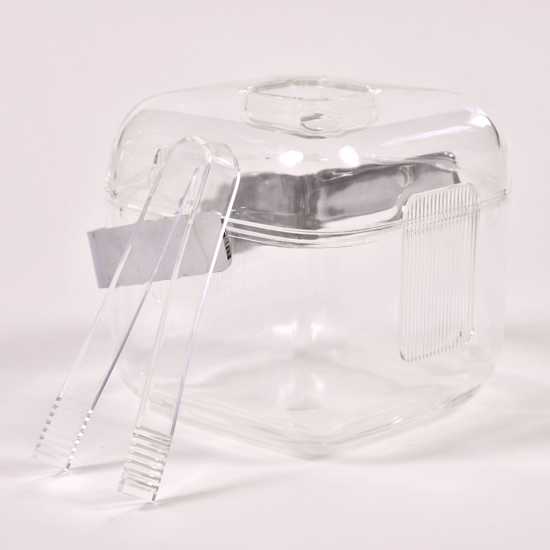 The image for Cube Lucite Ice Bucket 01