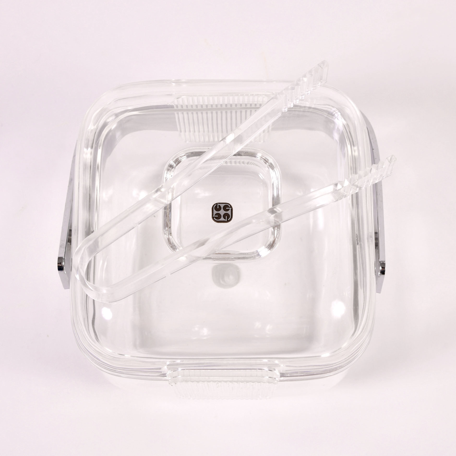 The image for Cube Lucite Ice Bucket 04