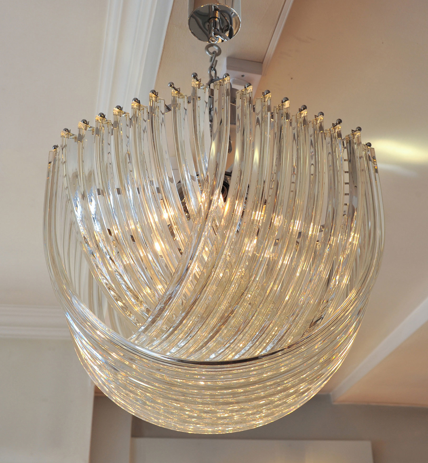 Curve Chandelier 02 For Web