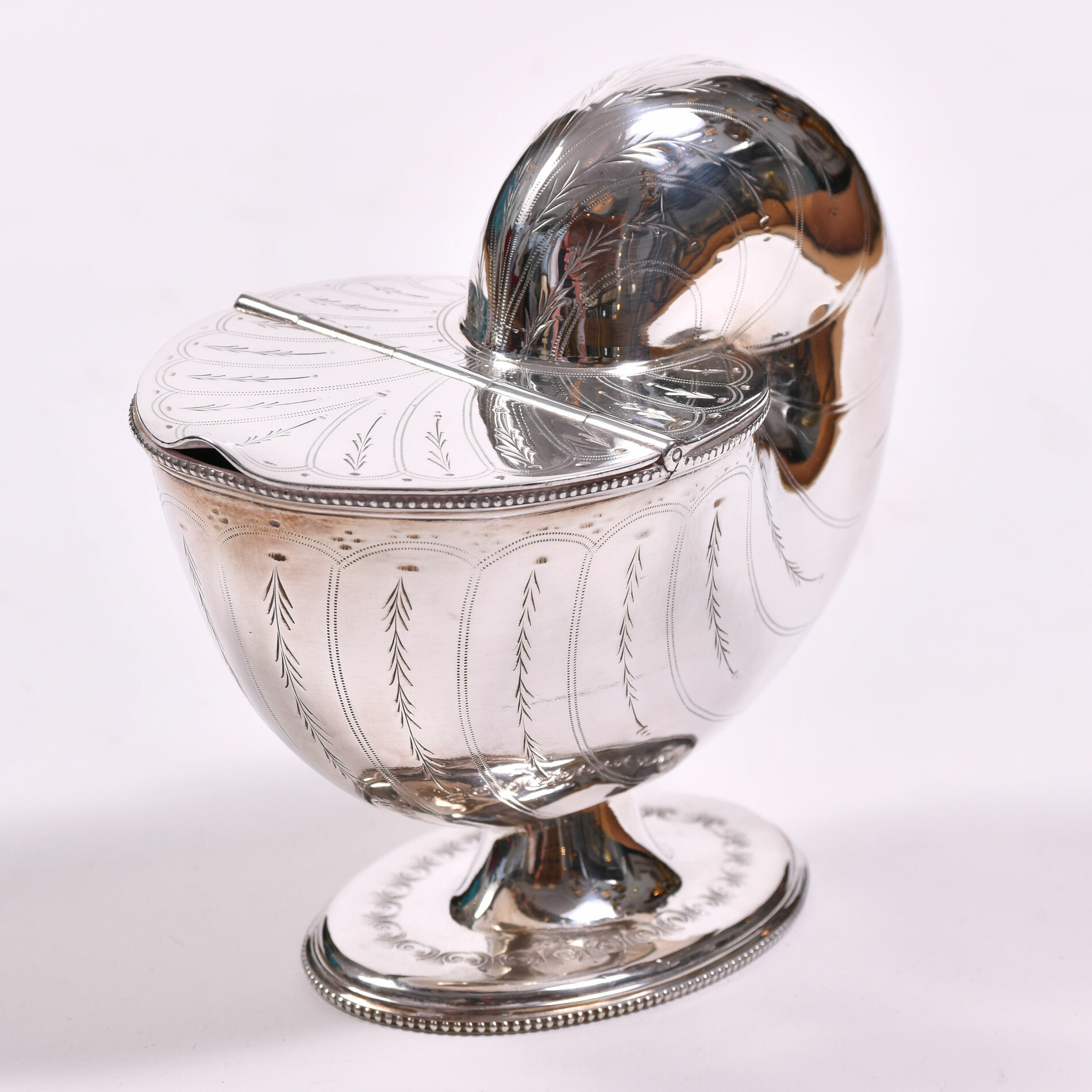 English Silver Plate Cornucopia 02