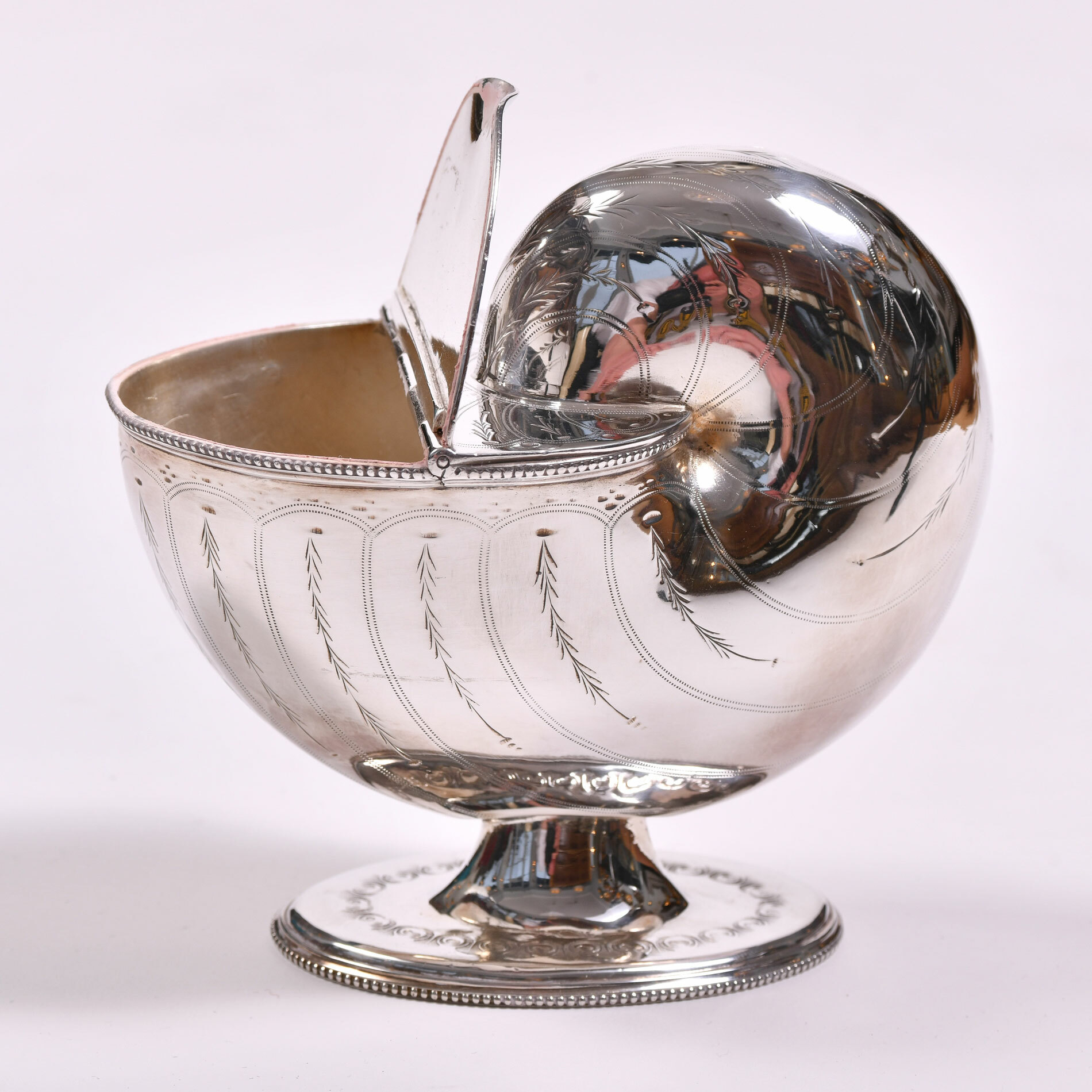 The image for English Silver Plate Cornucopia 03