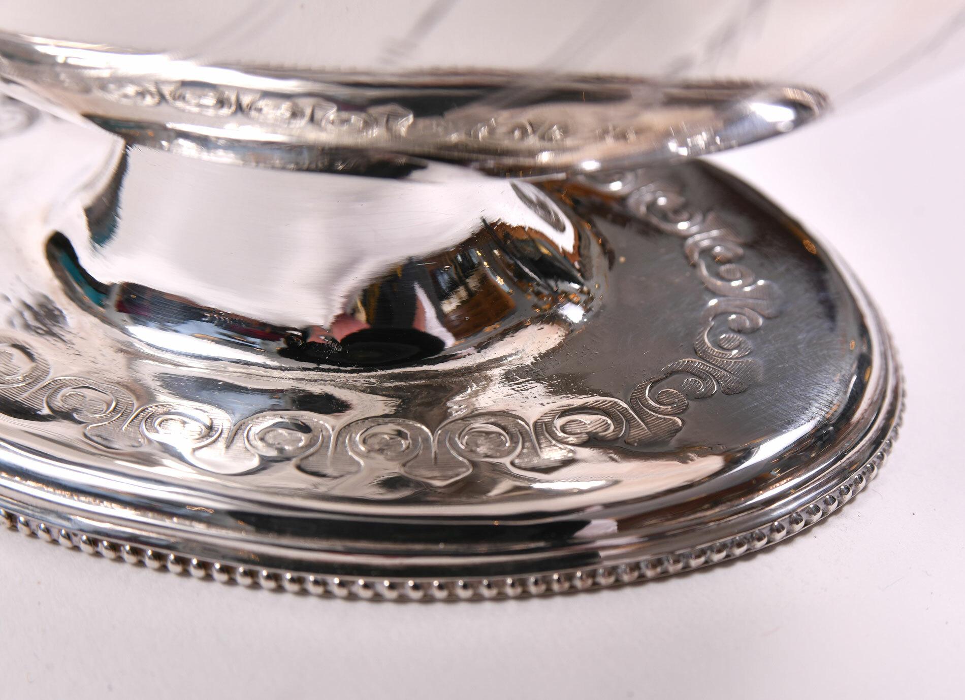 English Silver Plate Cornucopia 05