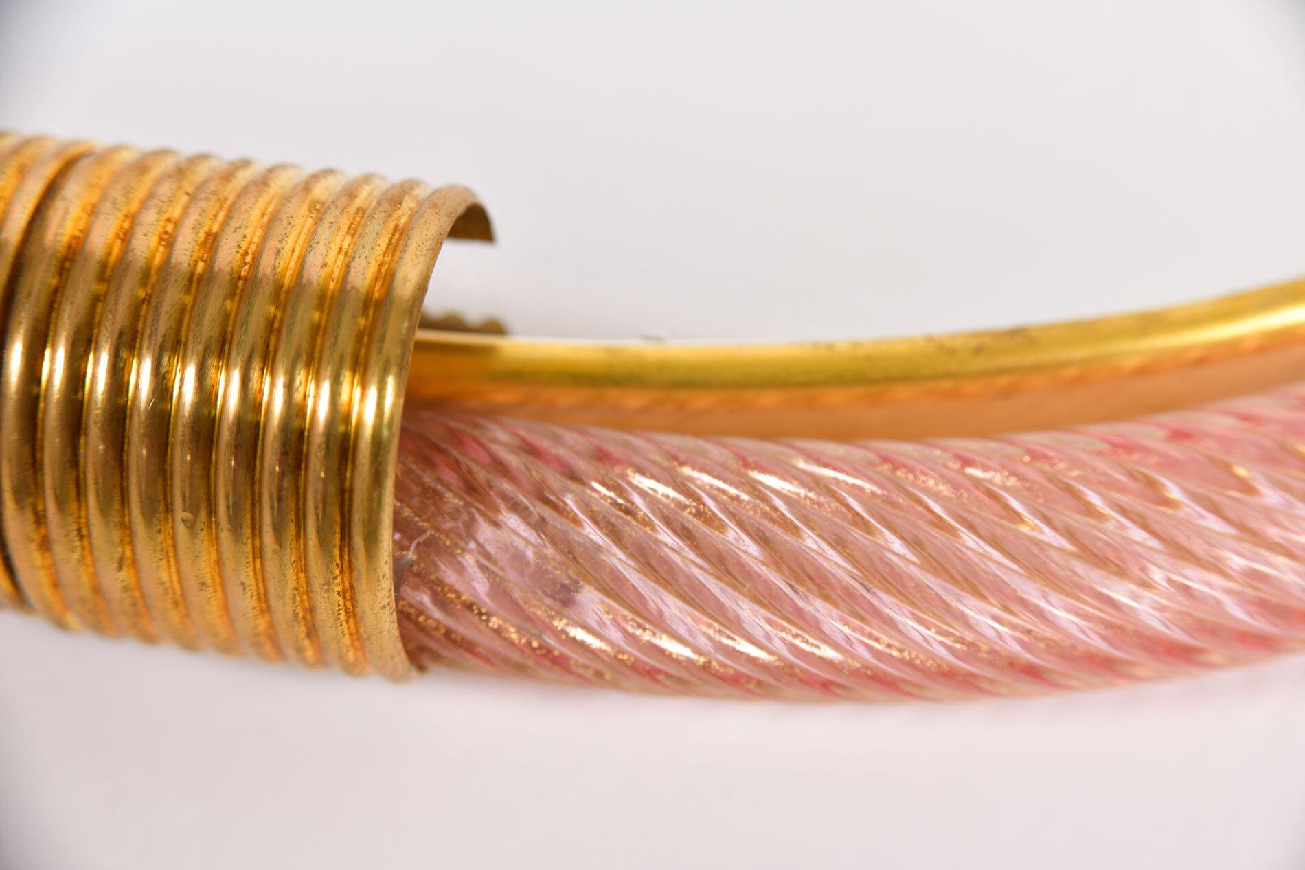Firenze Mirror Pink Oblong 05