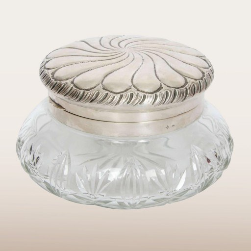 German Cut Glass Bowl 1930S Main