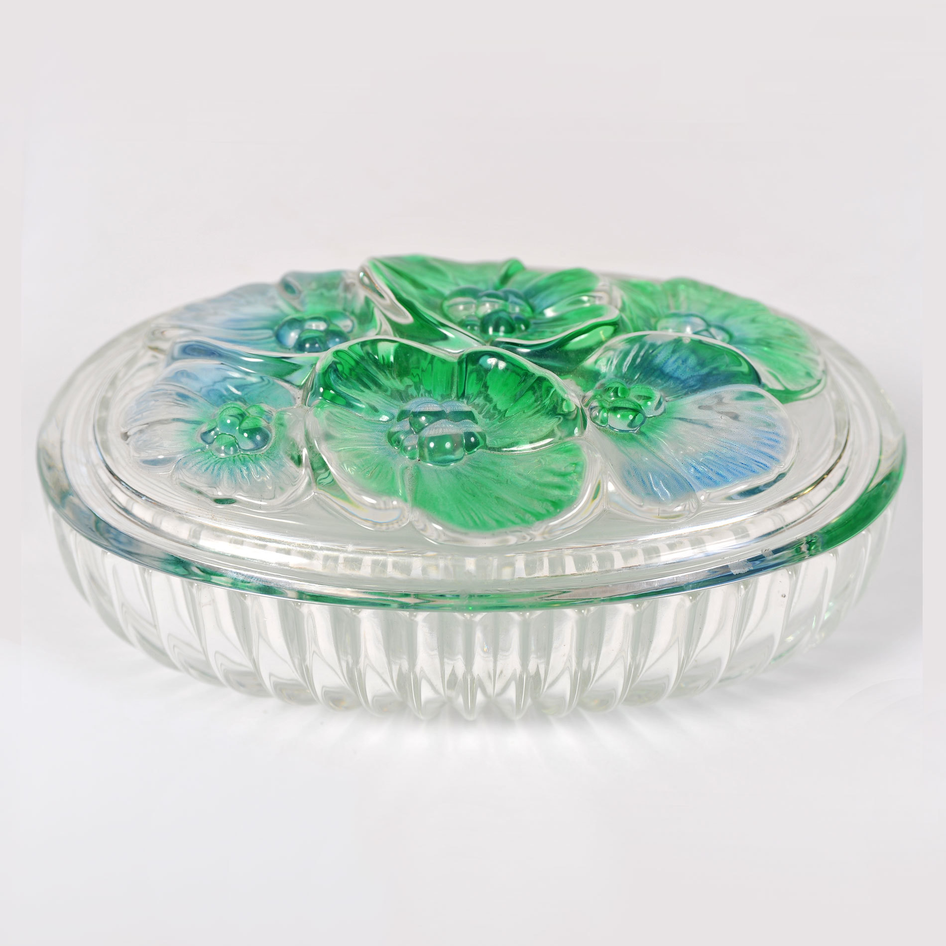 The image for Glass Lidded Bowl 01