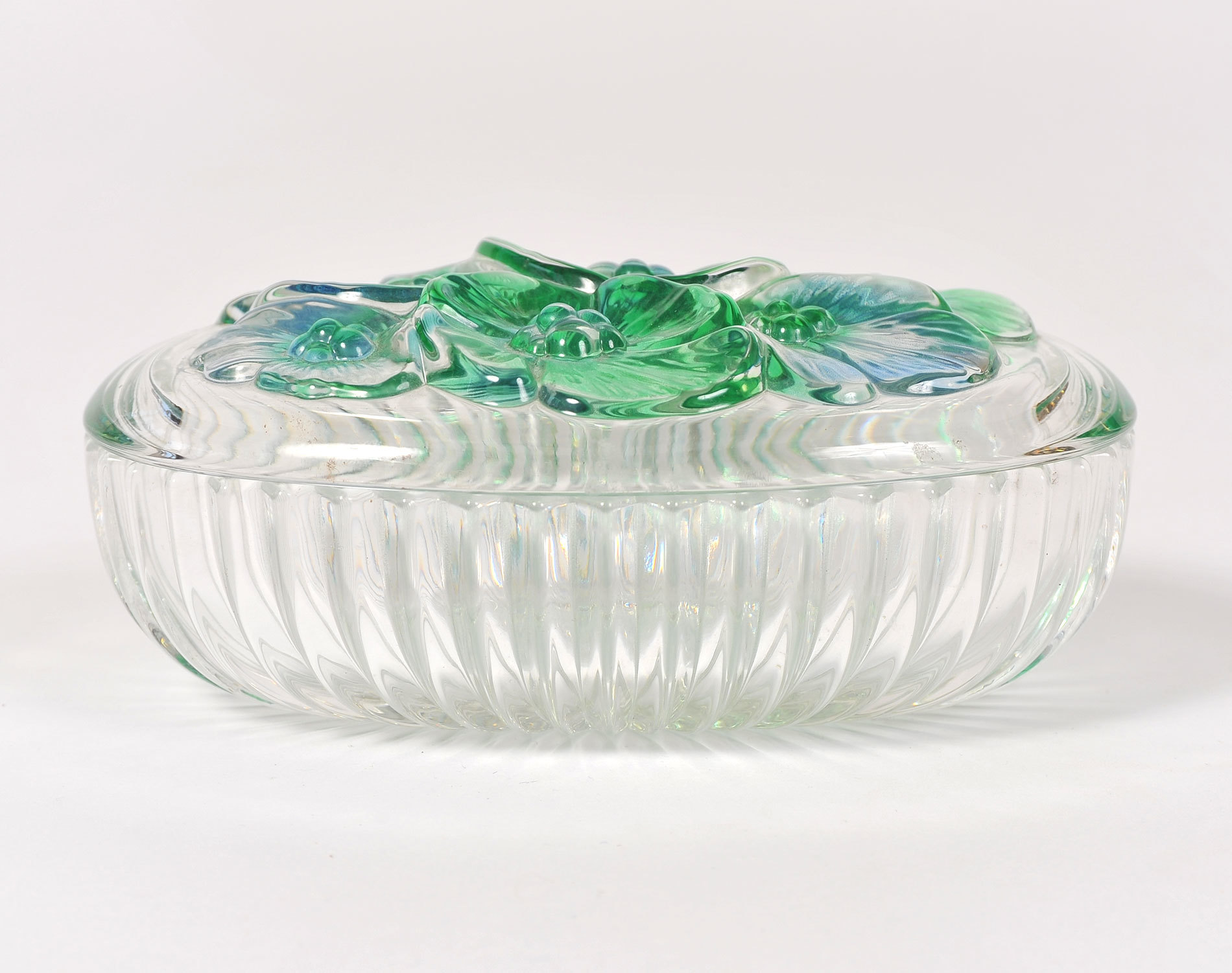 Glass Lidded Bowl 02