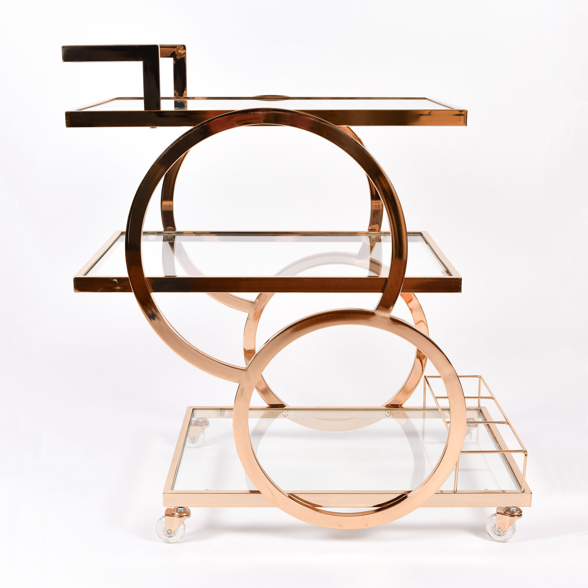 Gold American Drinks Trolley 01