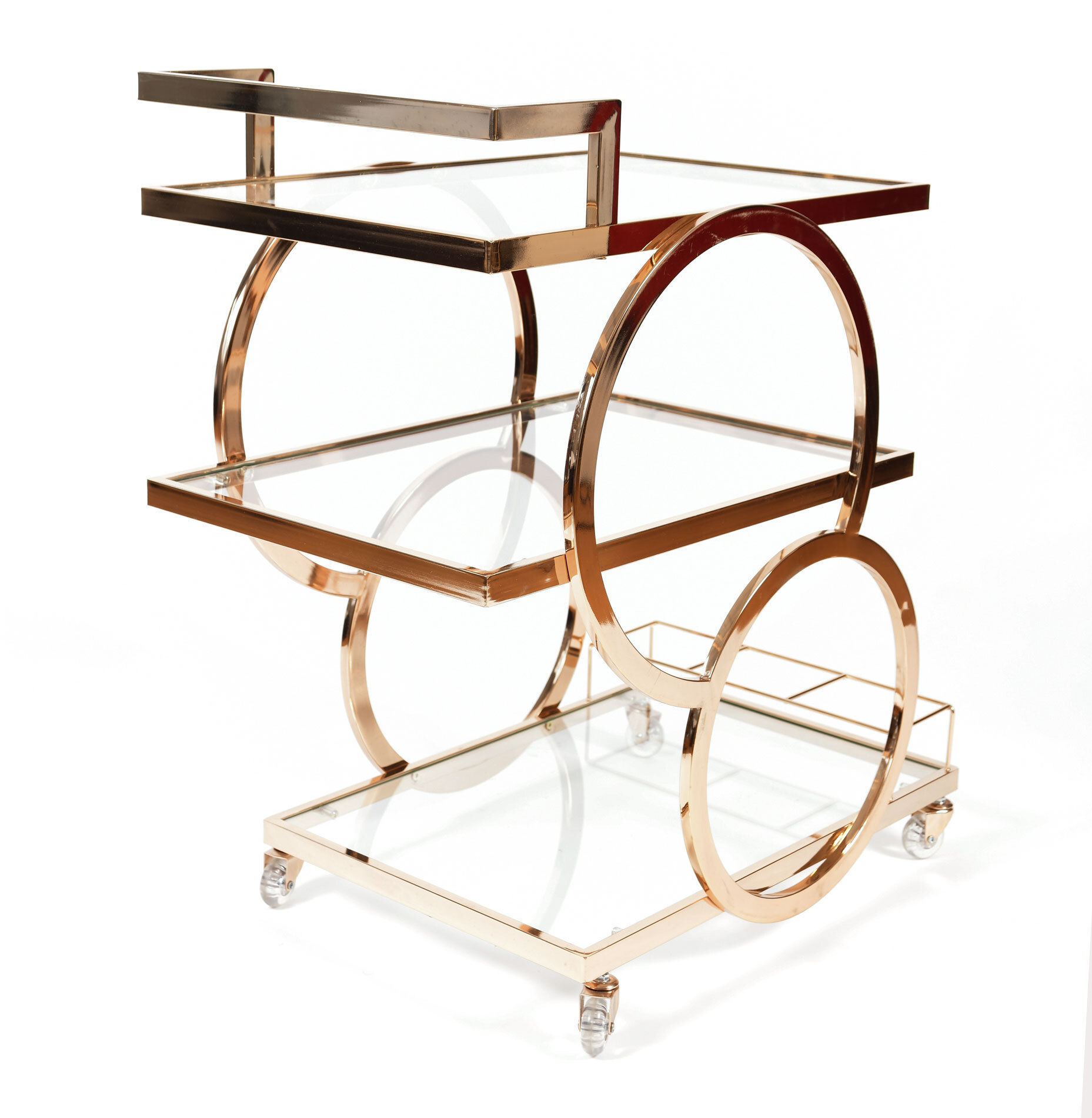 Gold American Drinks Trolley 02