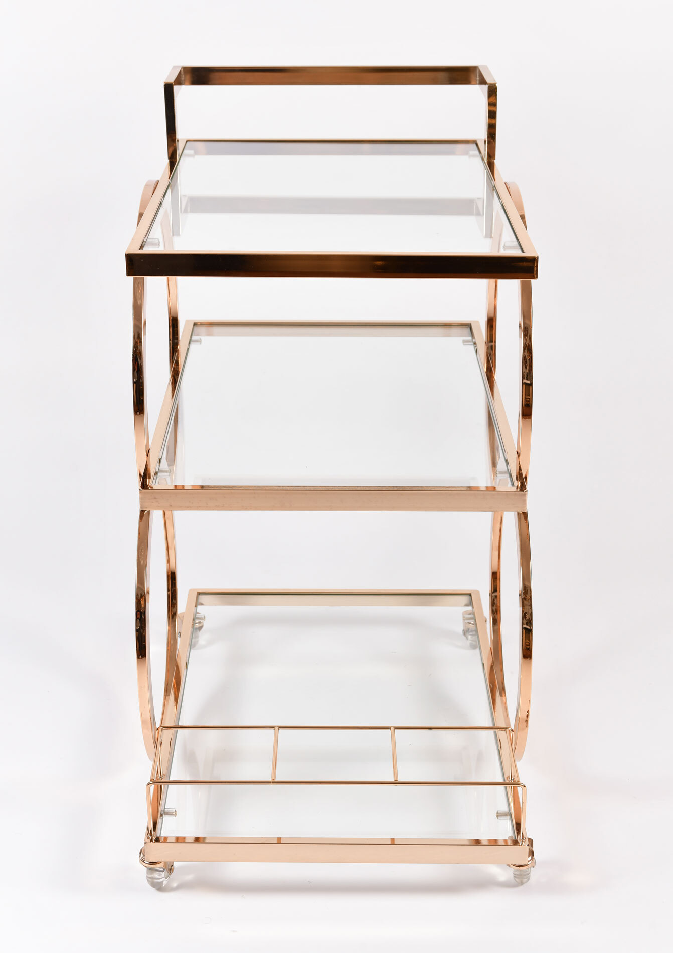 Gold American Drinks Trolley 03
