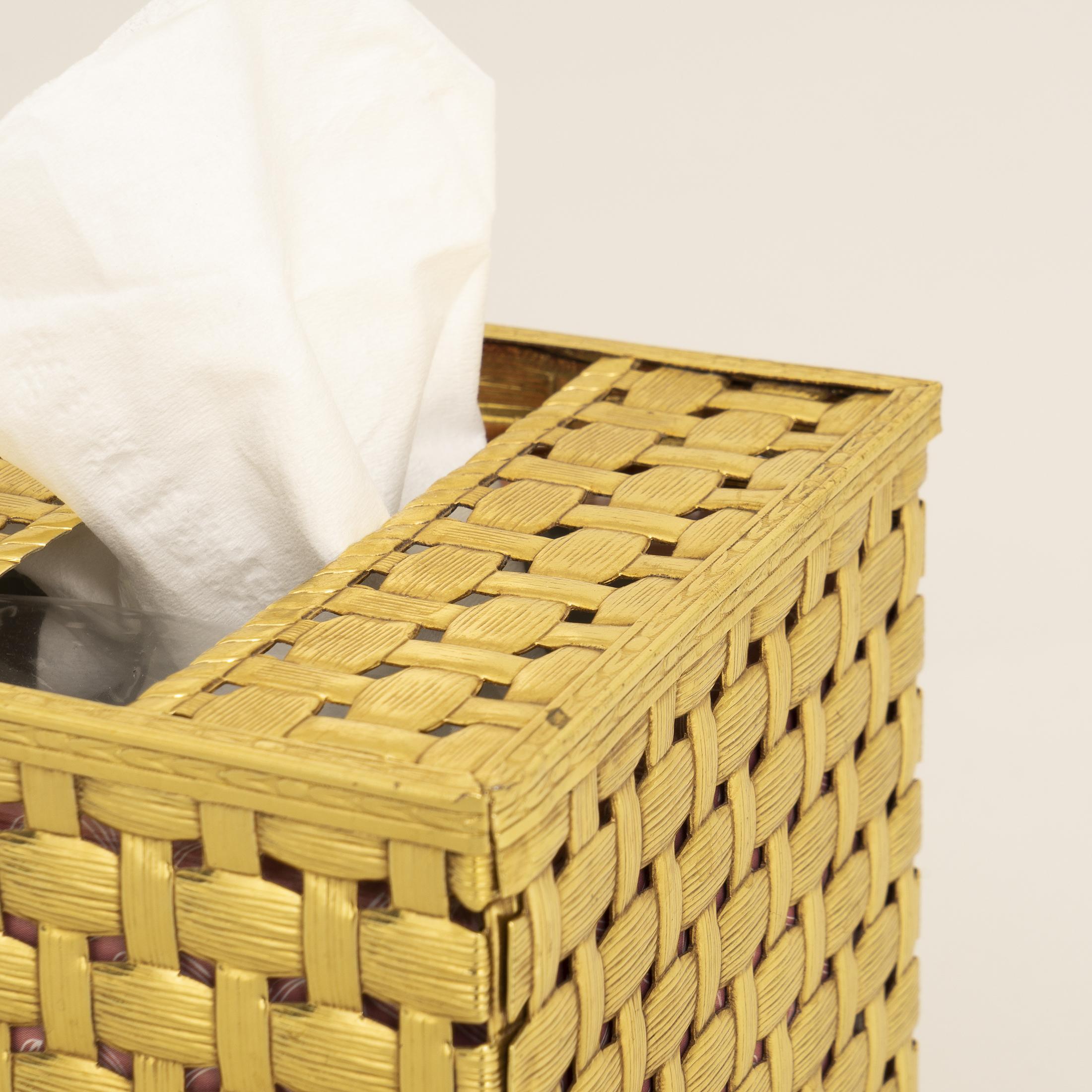 Gold Tissue Box 0326