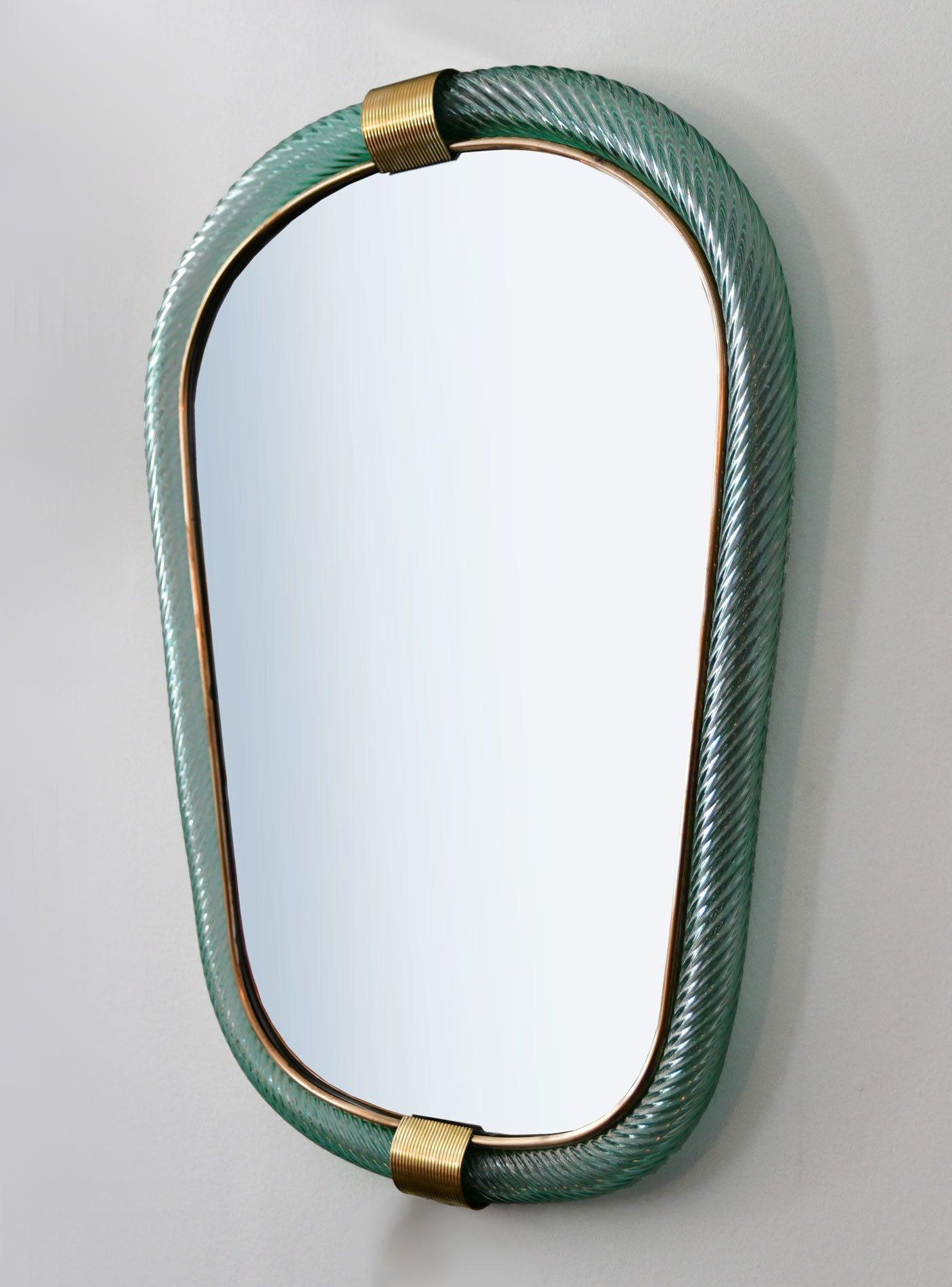 The image for Green Barovier Wall Mirror 02