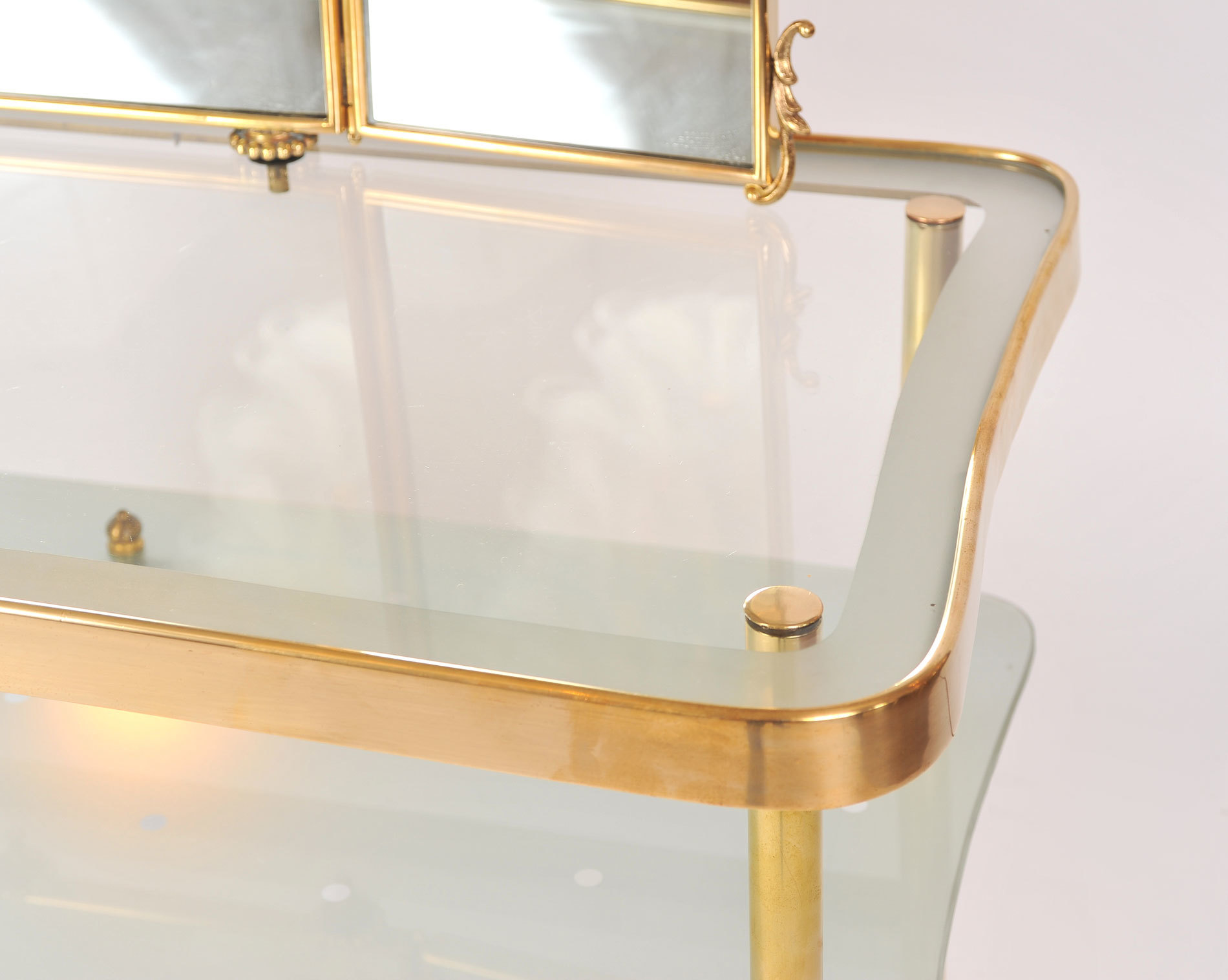 Italian Brass Dressing Table 02